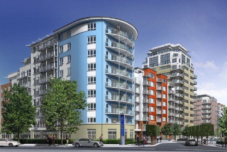 1 bedroom(s) apartment to sale in Arctic House, Beaufort Park, London-image 1