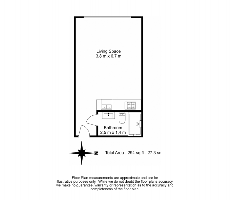 1 bedroom(s) apartment to sale in Battalion House, Heritage Avenue, Beaufort Park, Colindale-Floorplan