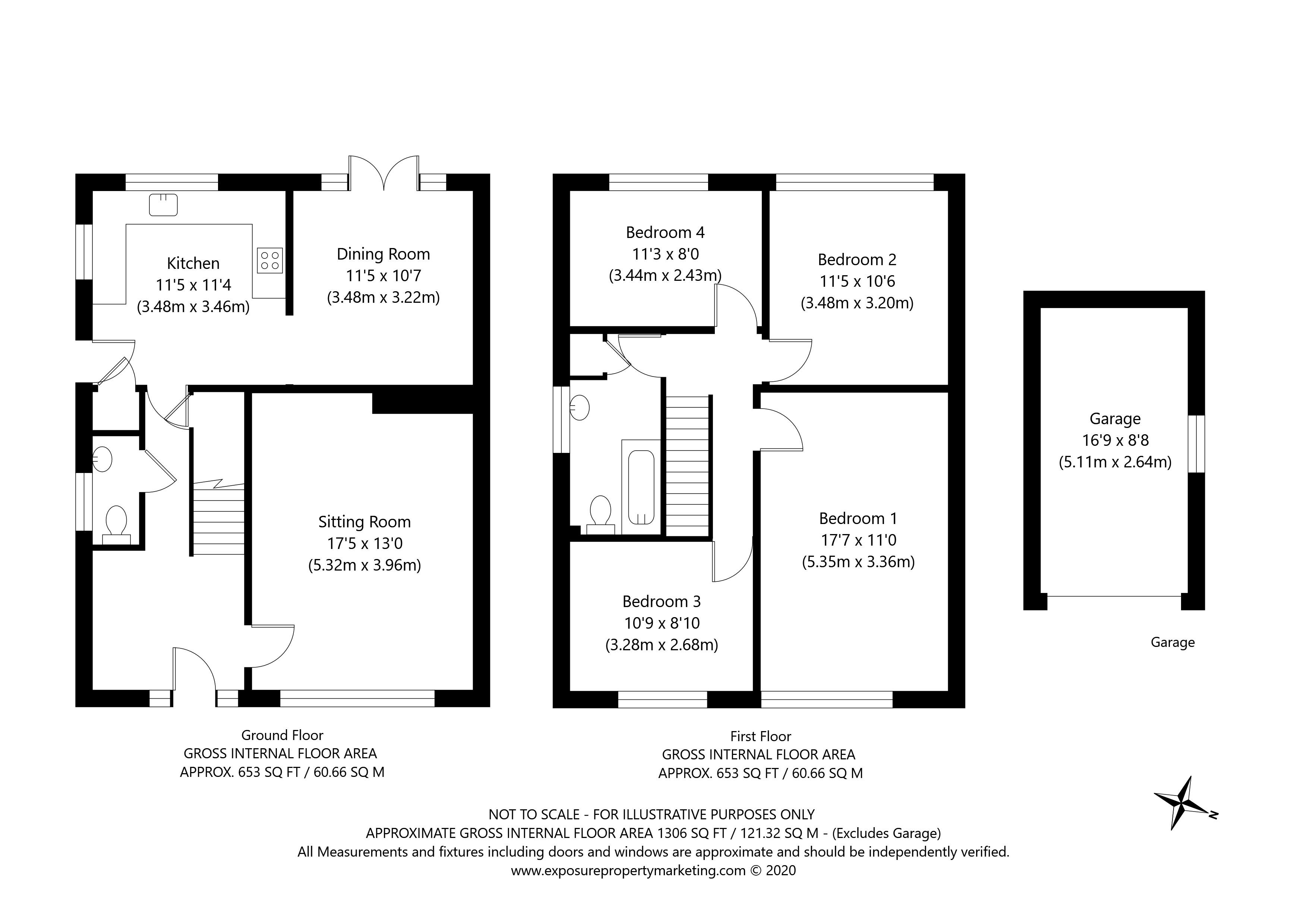 Carr Lane, Sutton-on-the-Forest, York property floorplan