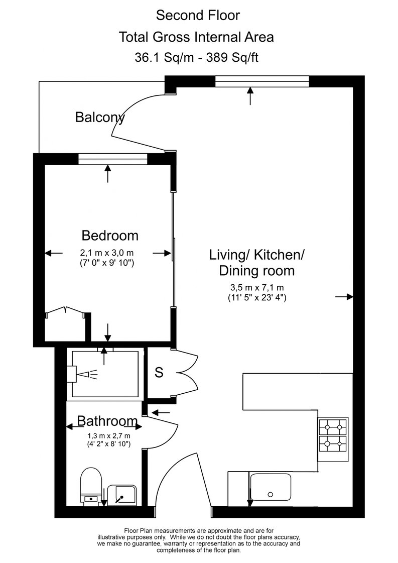 1 bedroom(s) apartment to sale in Curtiss House, Heritage Avenue, Beaufort Park, Colindale-Floorplan