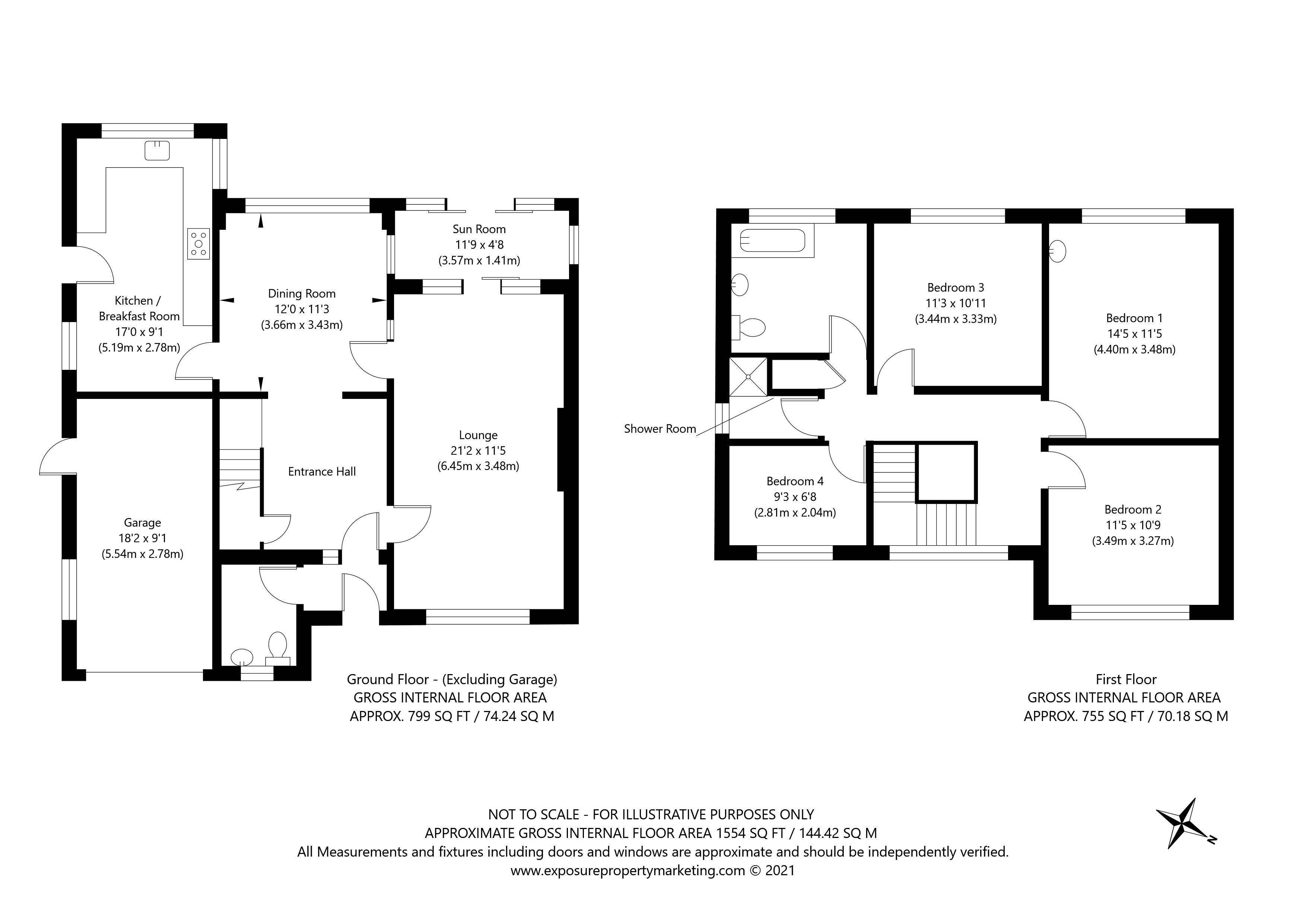 Lime Avenue, York property floorplan