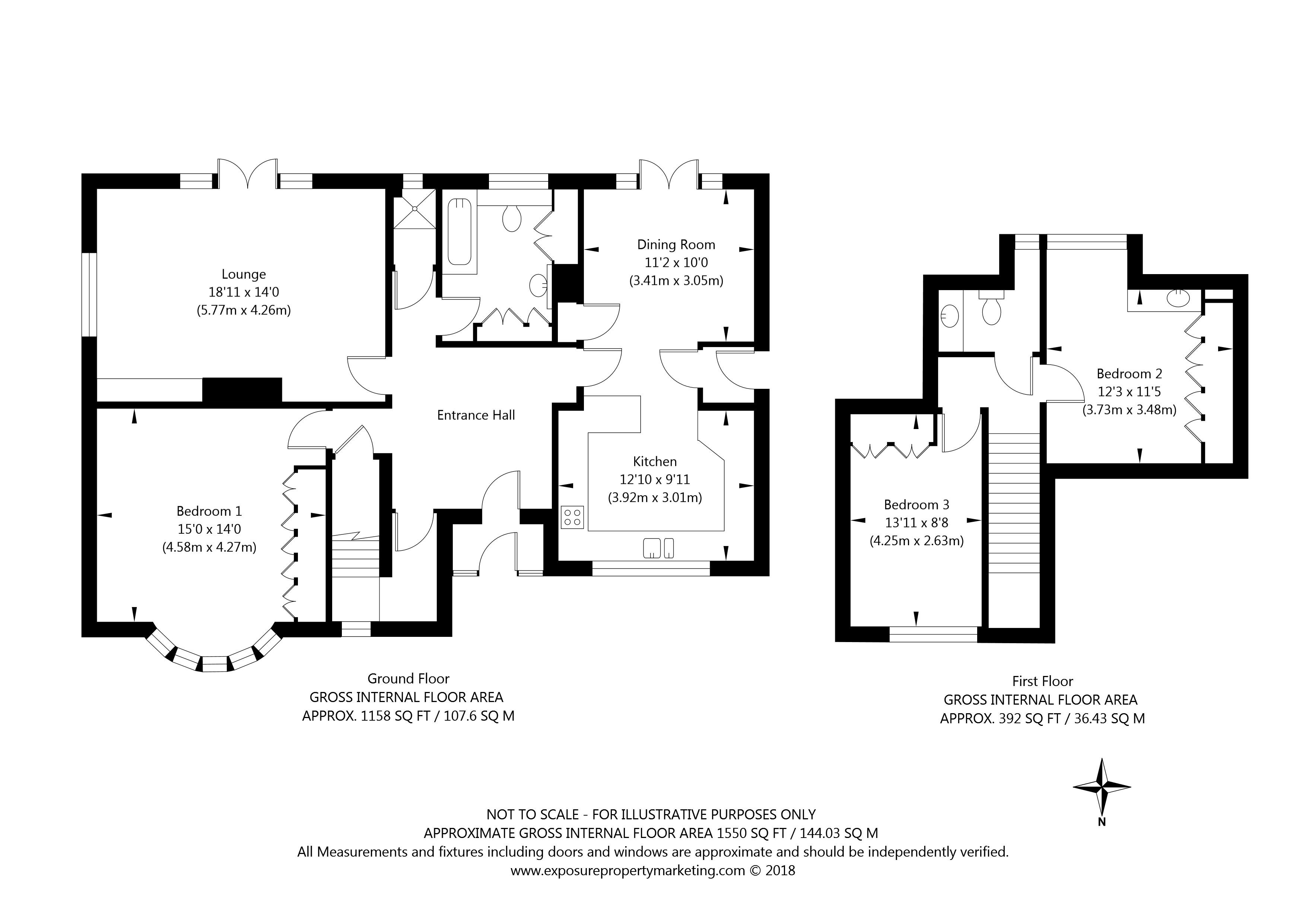 Lang Road, Bishopthorpe, York property floorplan