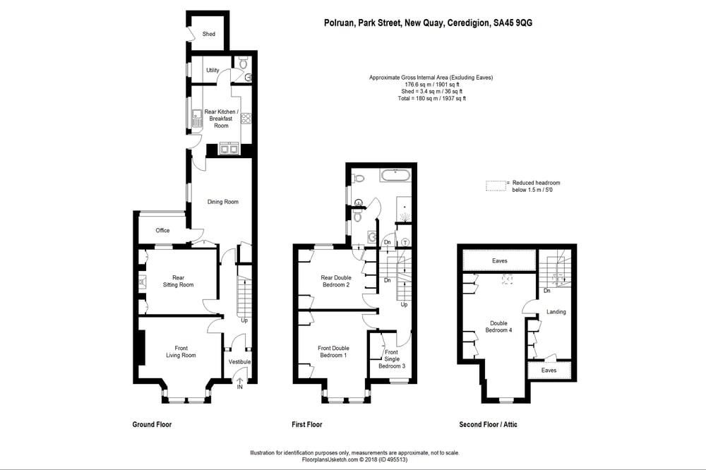 Park Street , New Quay , SA45 9QG - Morgan & Davies - Estate