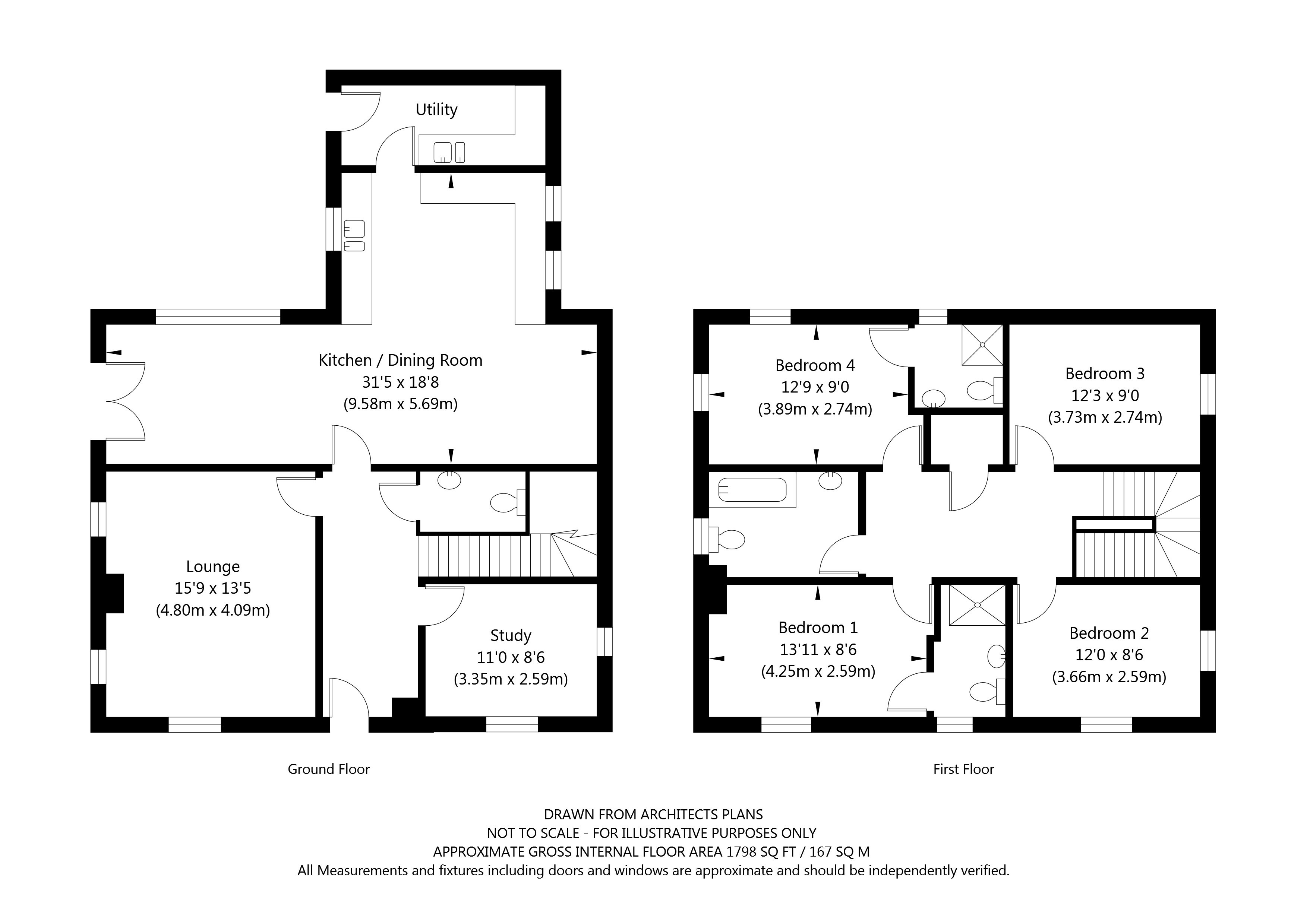 Plot 9 Woldgate Pastures, Kilham, East Yorkshire property floorplan