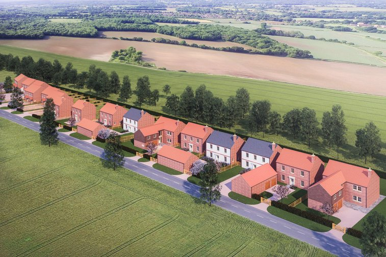 Plot 13, The Paddocks, Melbourne, York - property for sale in York