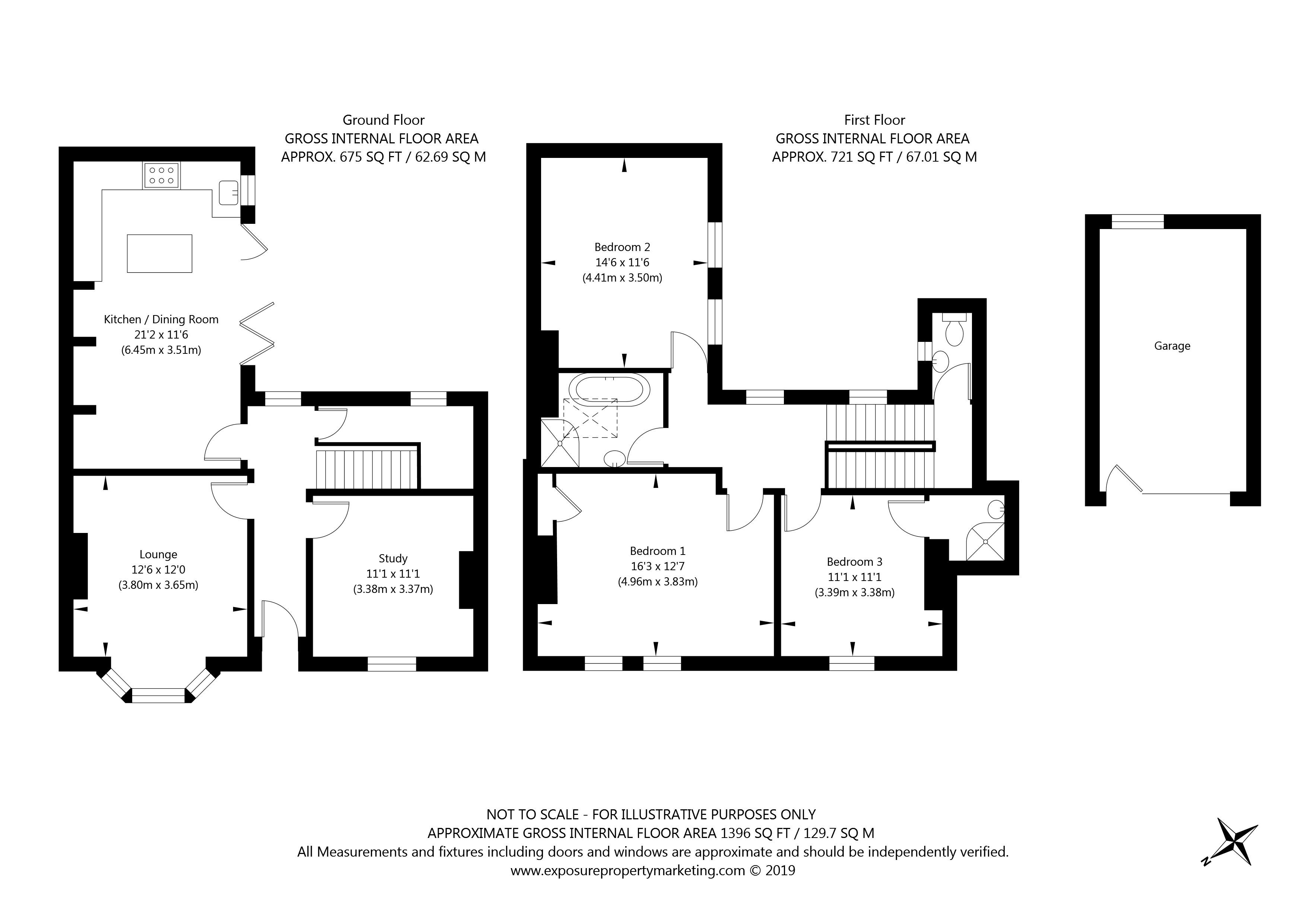 28 Bootham Crescent, York property floorplan