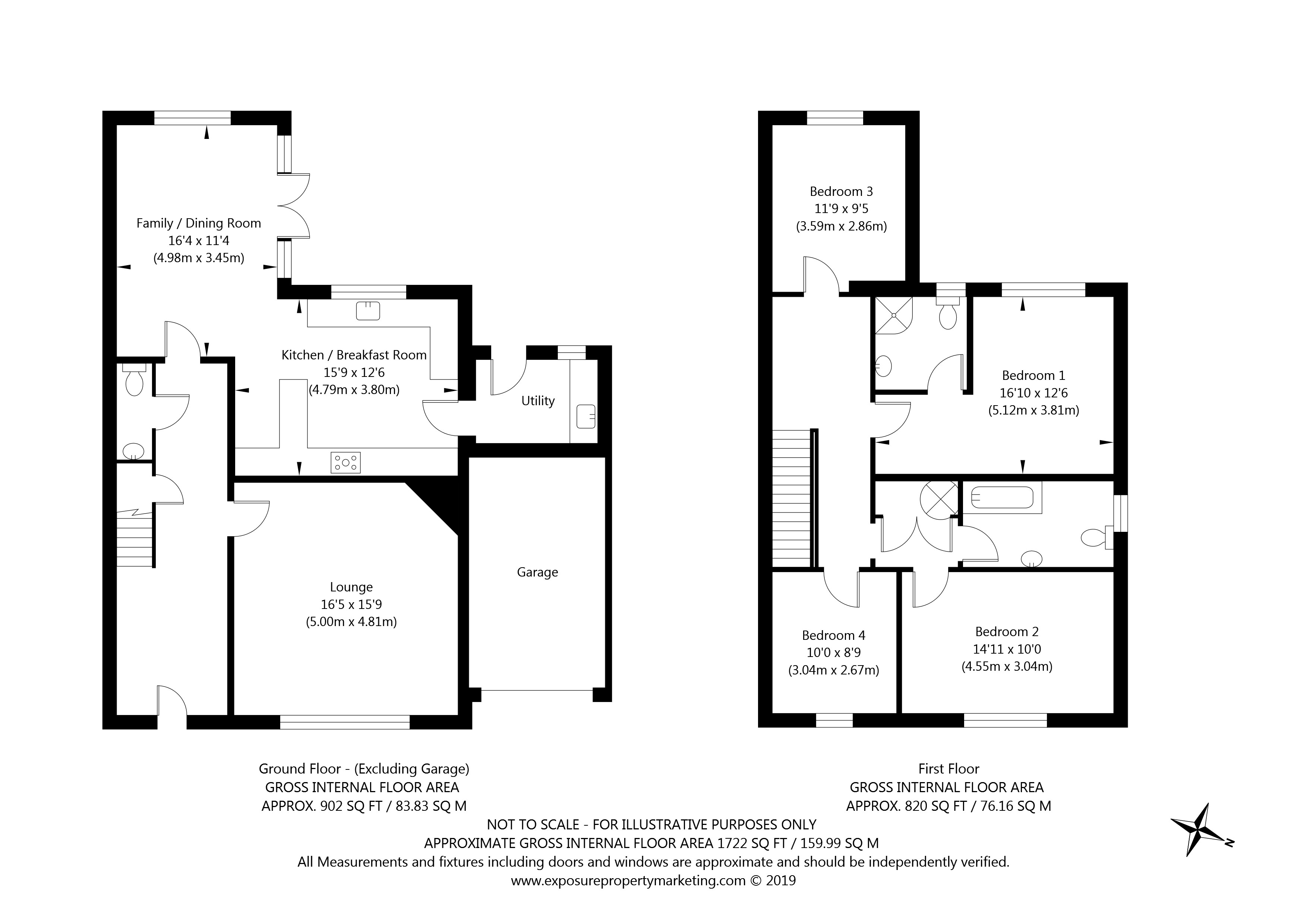 2 Orchard Cottages, Harton, York property floorplan