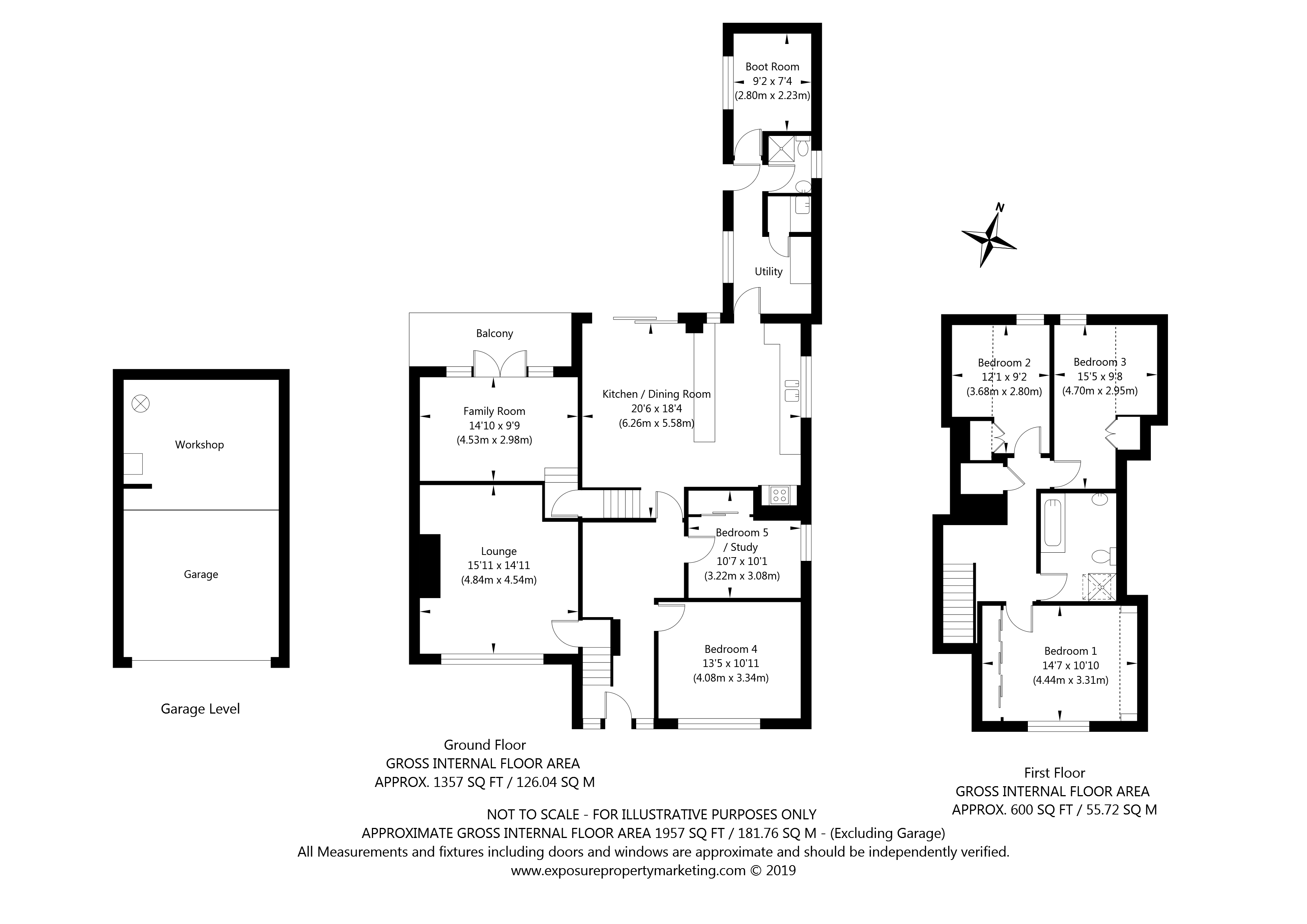 The Lane, Gate Helmsley, York property floorplan