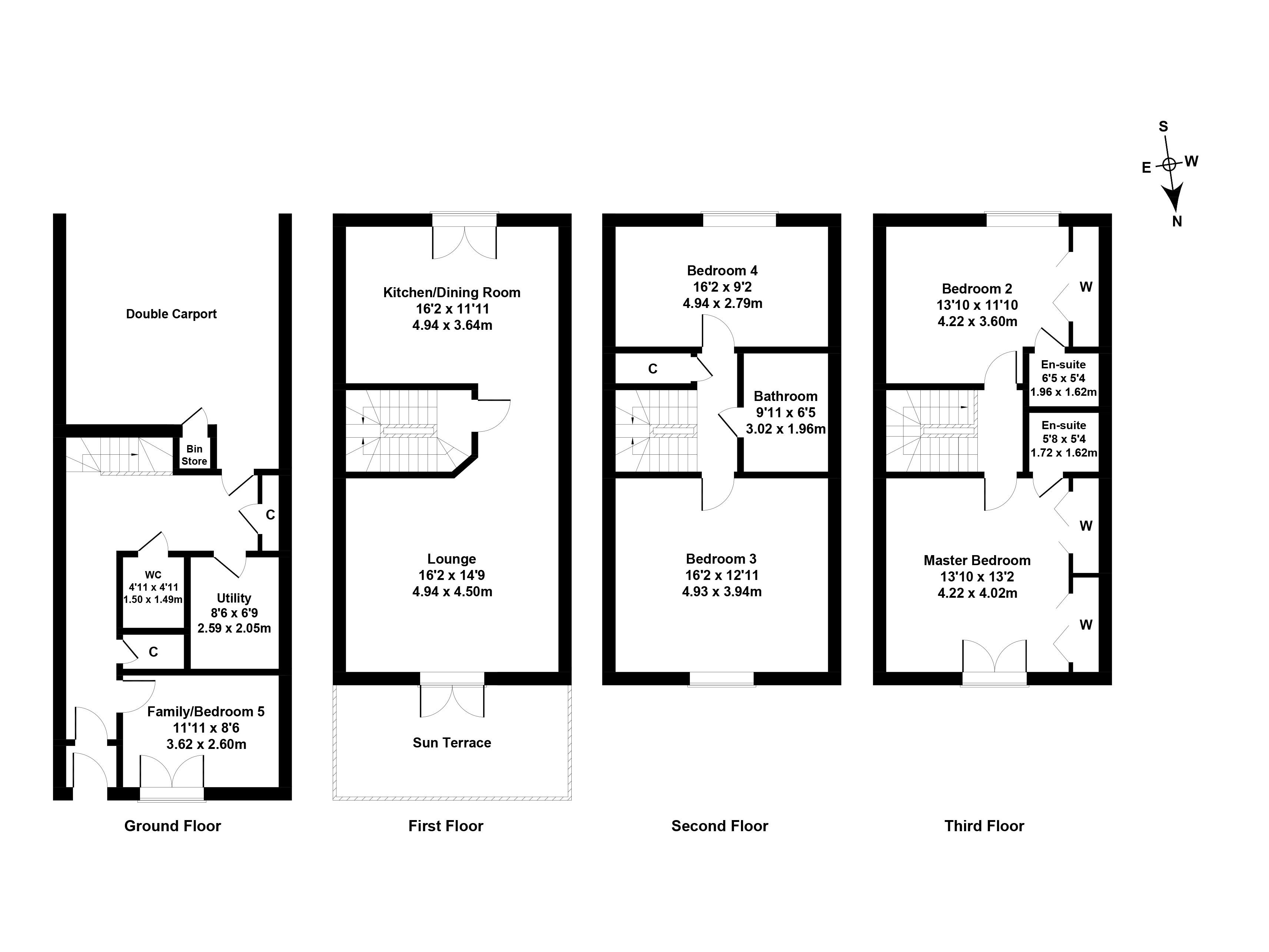 Floorplan 1 of 11 Constitution Place, The Shore, Edinburgh, EH6 7DL