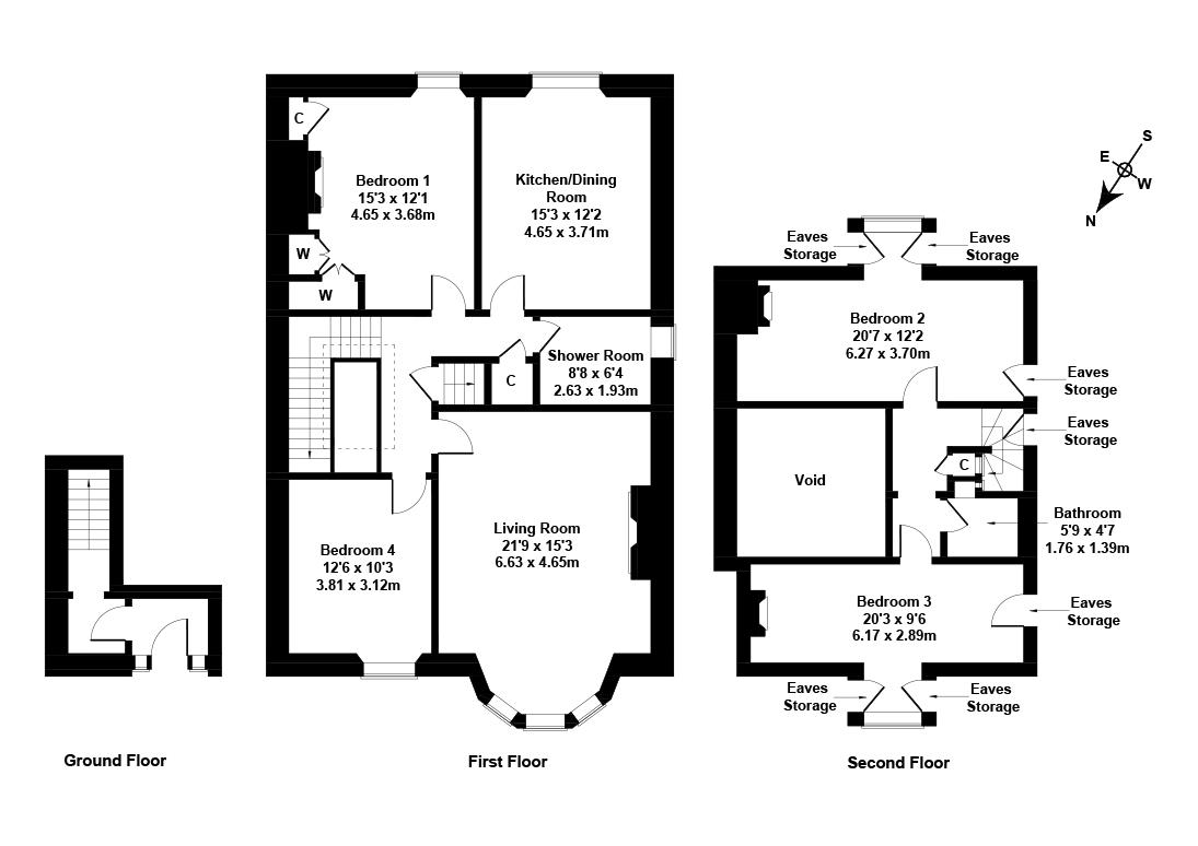 Floorplan 1 of 27/2, Lygon Road, Newington, Edinburgh, EH16 5QD