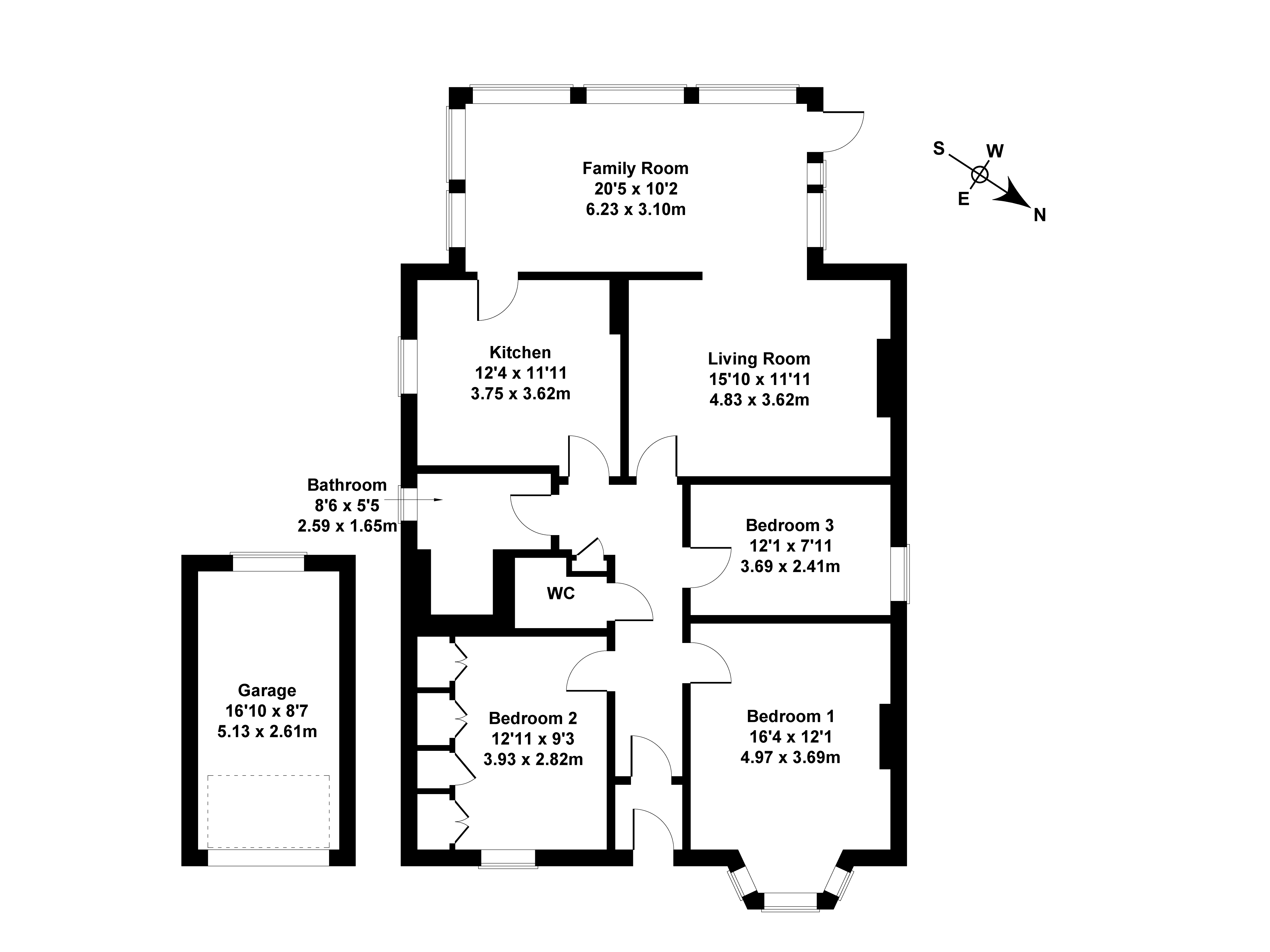 Floorplan 1 of 18 Blinkbonny Road, Ravelston, Edinburgh, EH4 3HX