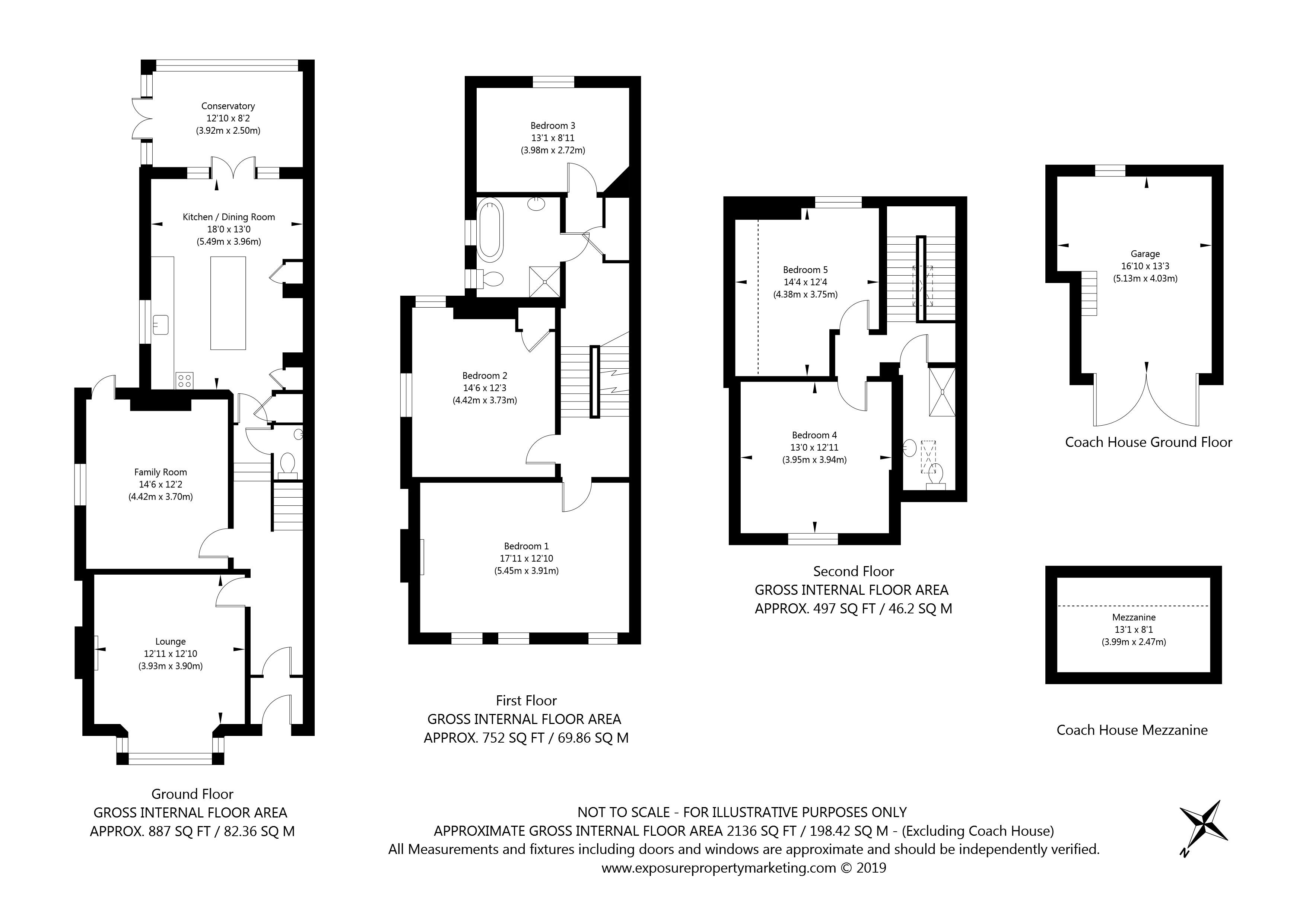 Burton Stone Lane, York property floorplan