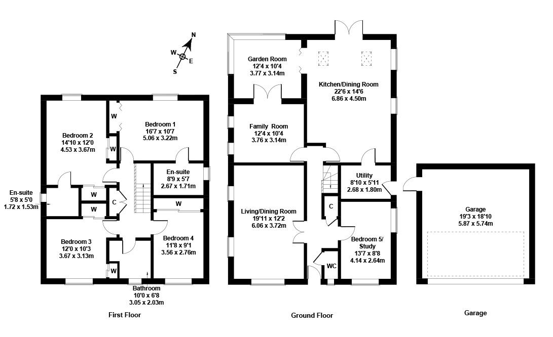 Floorplan 1 of 3 Hoggan Way, Loanhead, Midlothian, EH20 9DG