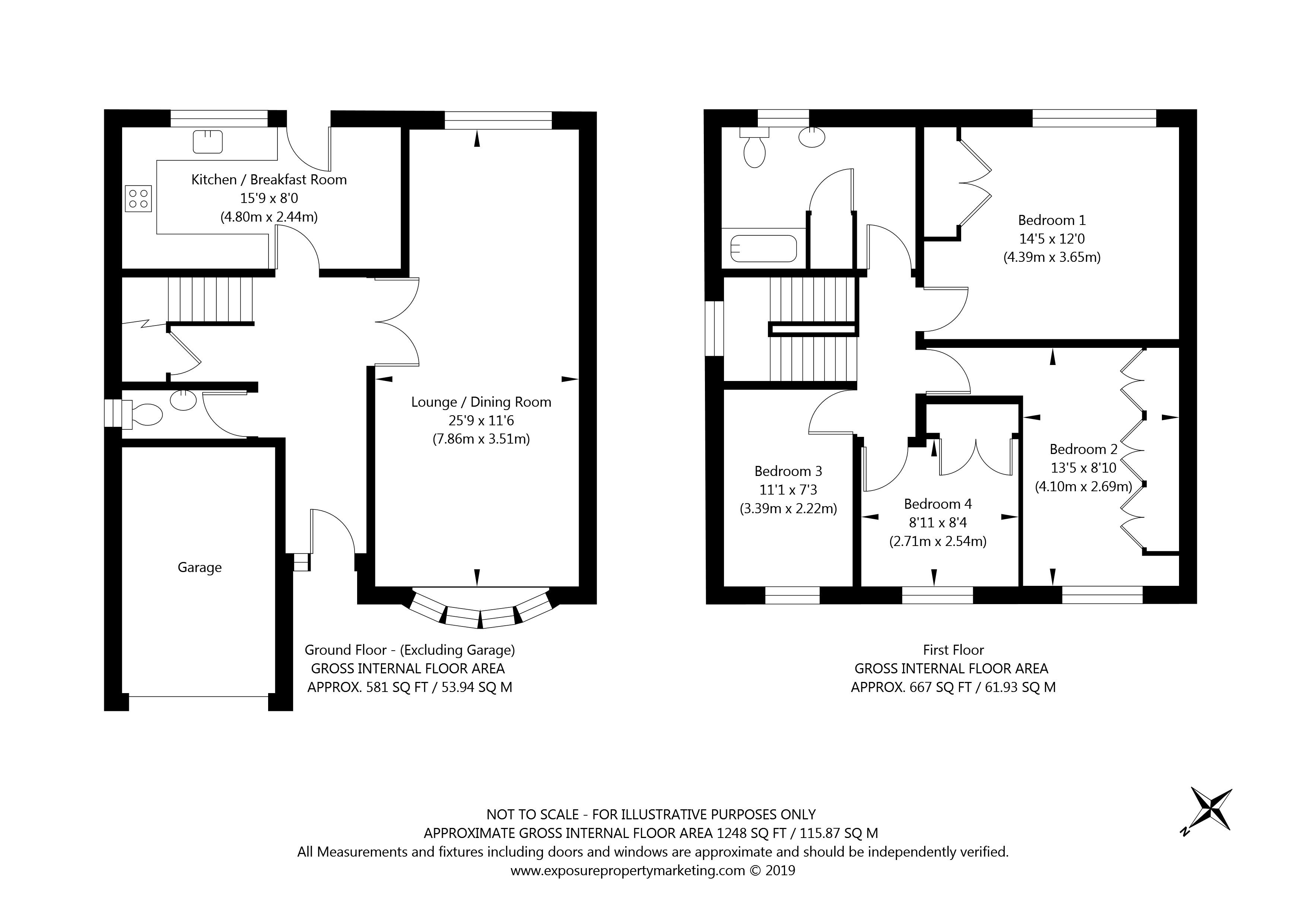 109 Dringthorpe Road, York property floorplan