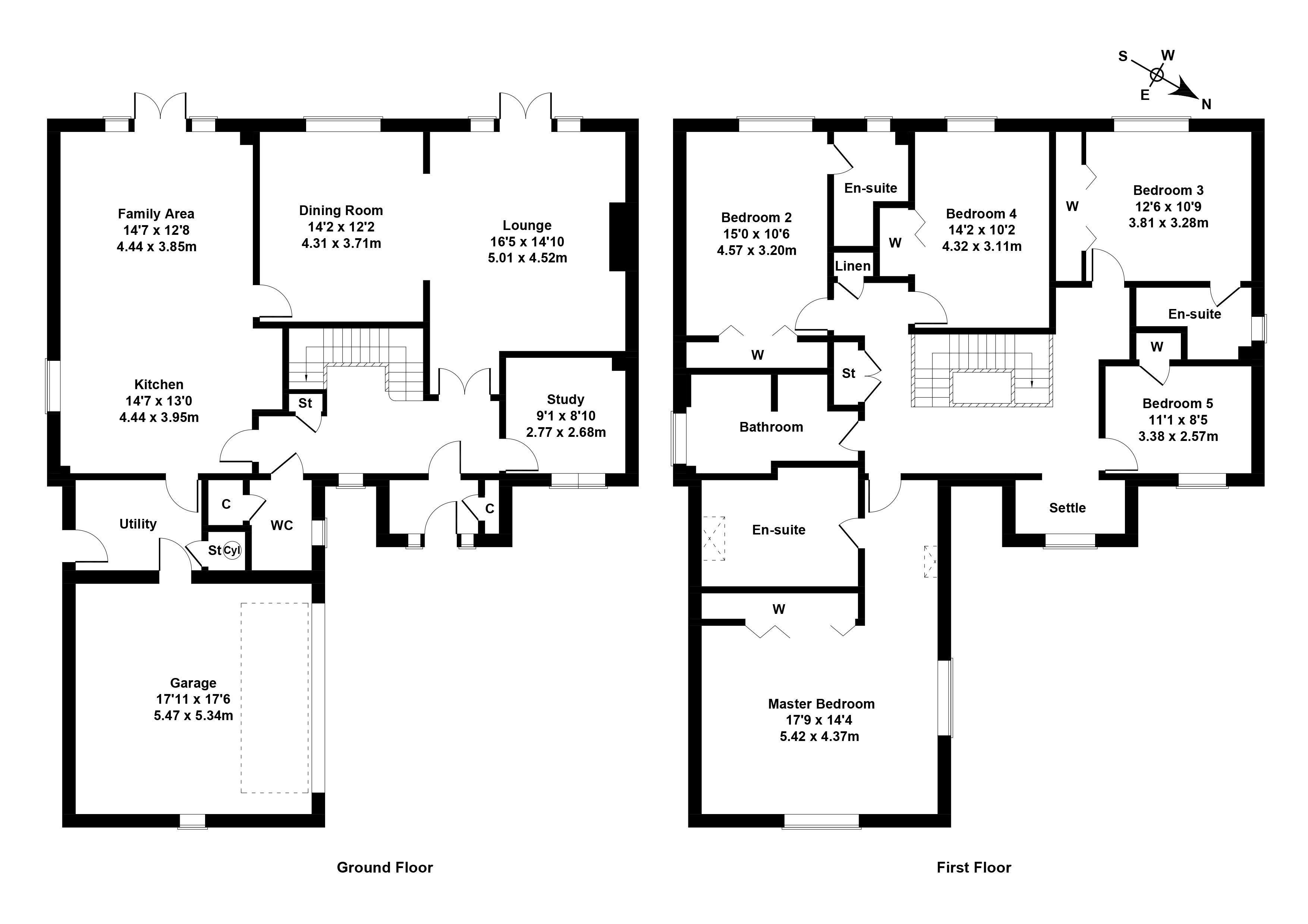Floorplan 1 of 51 West Cairn View, Livingston, West Lothian, EH54 9FF