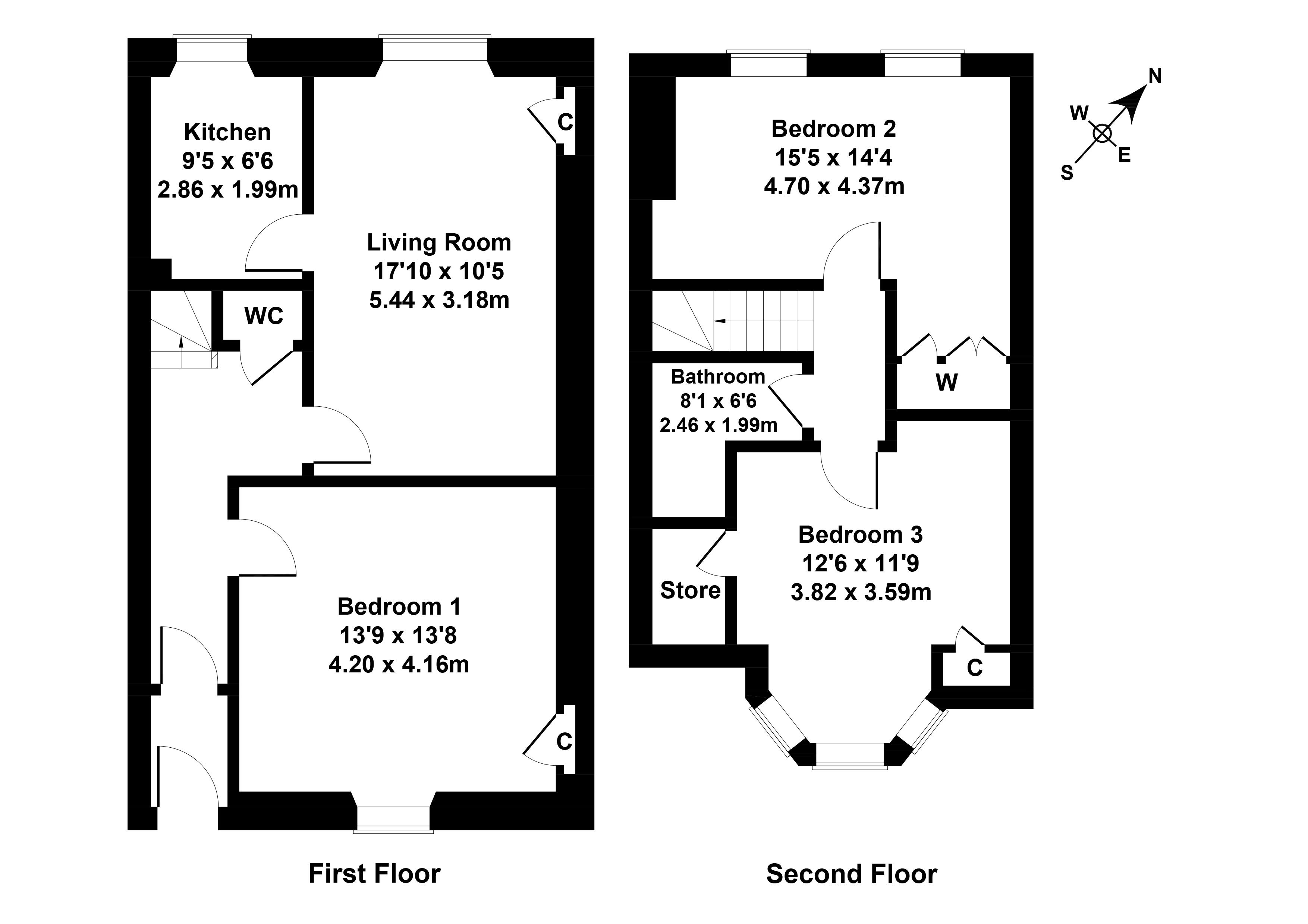 Floorplan 1 of 10 McLaren Terrace, Haymarket, Edinburgh, EH11 2BN