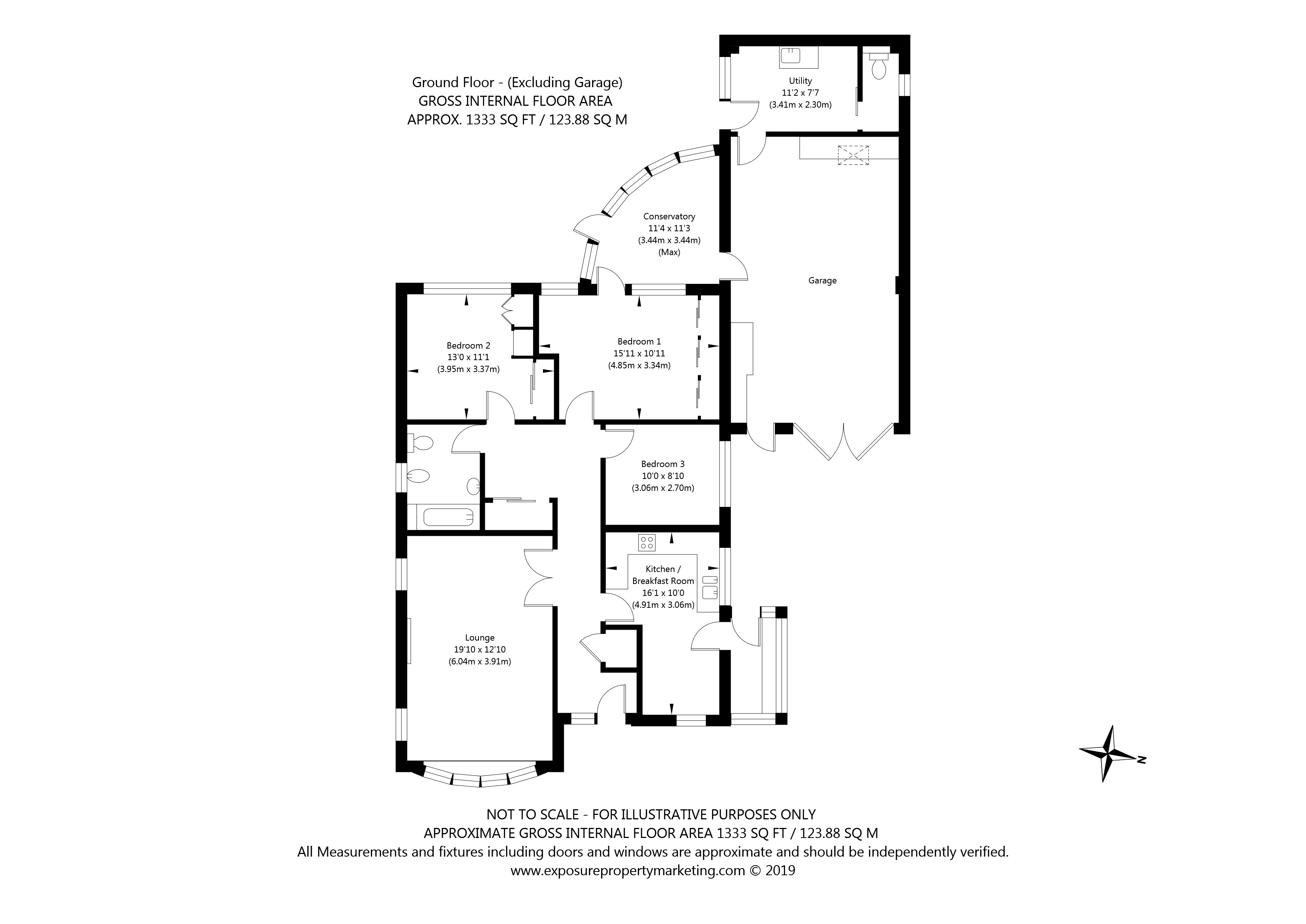 5 Charles Moor, Stockton Lane, York property floorplan