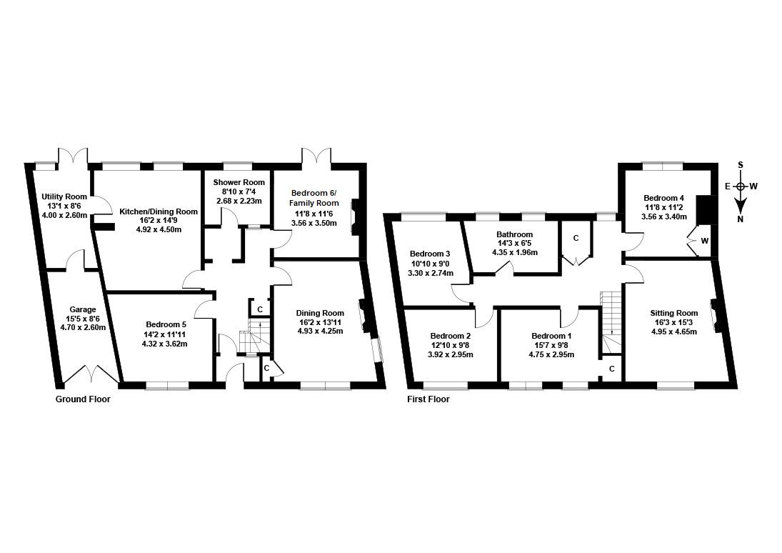 Floorplan 1 of 8 Bayswell Road, Dunbar, East Lothian, EH42 1AB