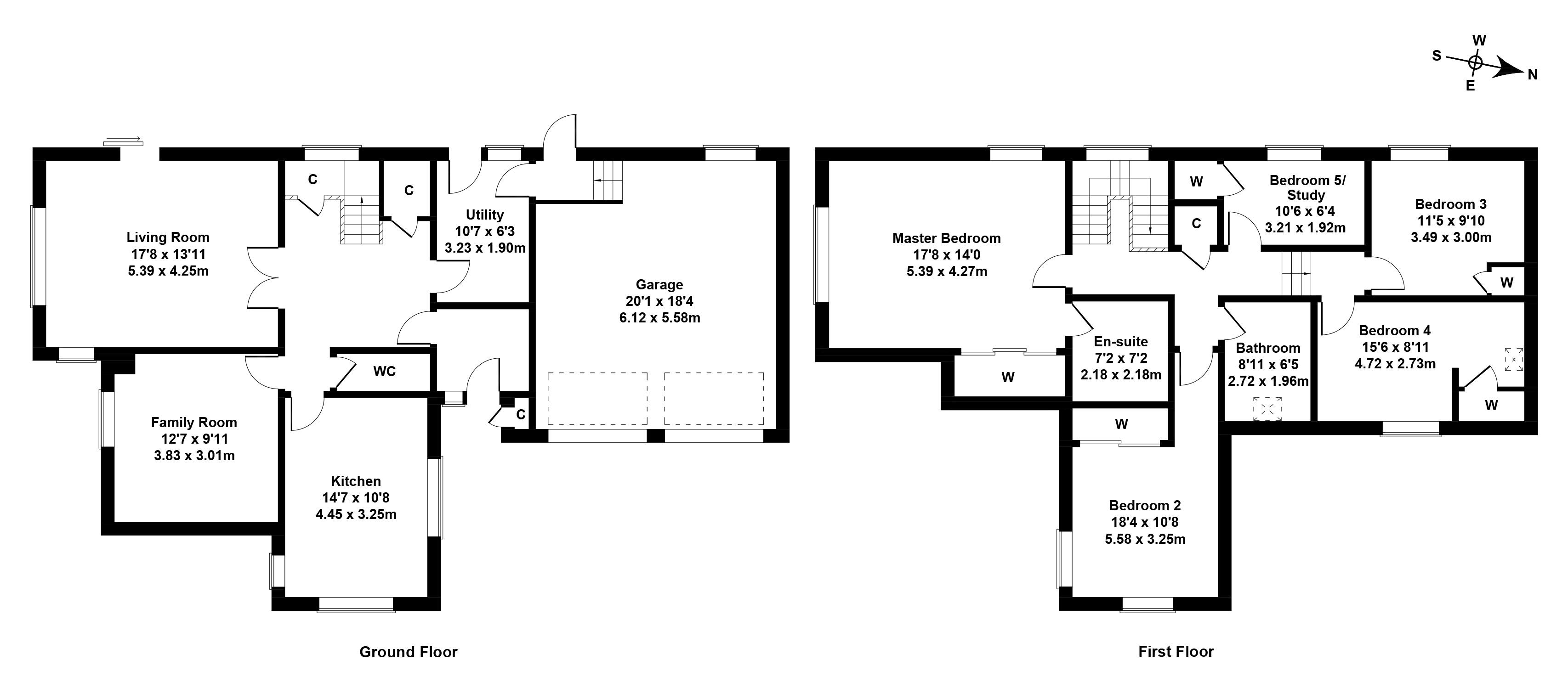 Floorplan 1 of 5 Red Fox Crescent, Penicuik, Midlothian, EH26 0RQ