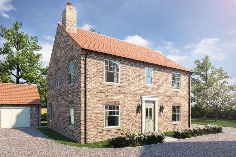 The Wilton Plot 2 Woldgate Pastures, Kilham, York - property for sale in York