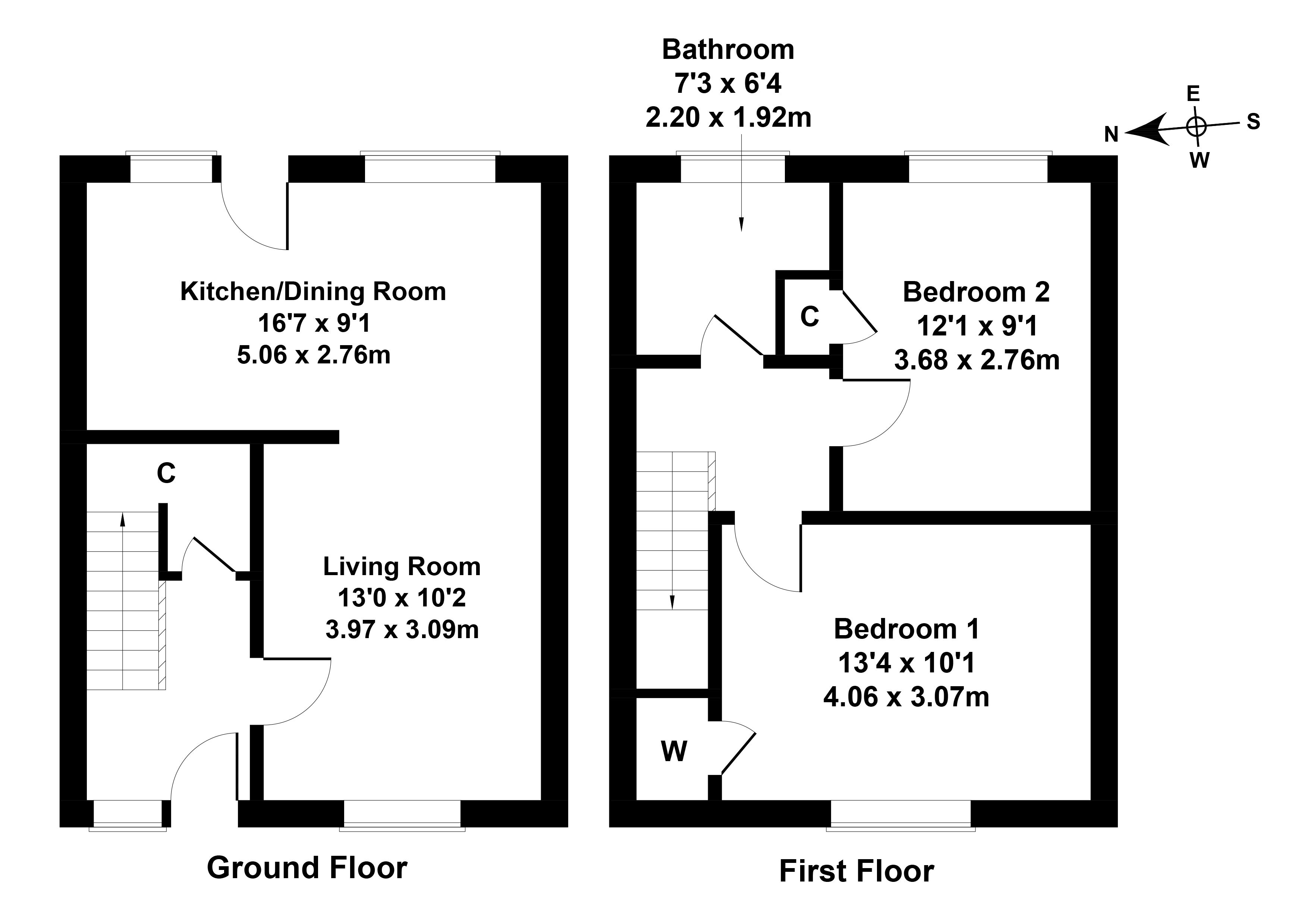 Floorplan 1 of 148 Howden Hall Drive, Liberton, Edinburgh, EH16 6UX