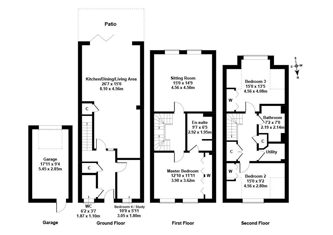 Floorplan 1 of 3 Wintour Lane, Currie, City of Edinburgh, EH14 6AY