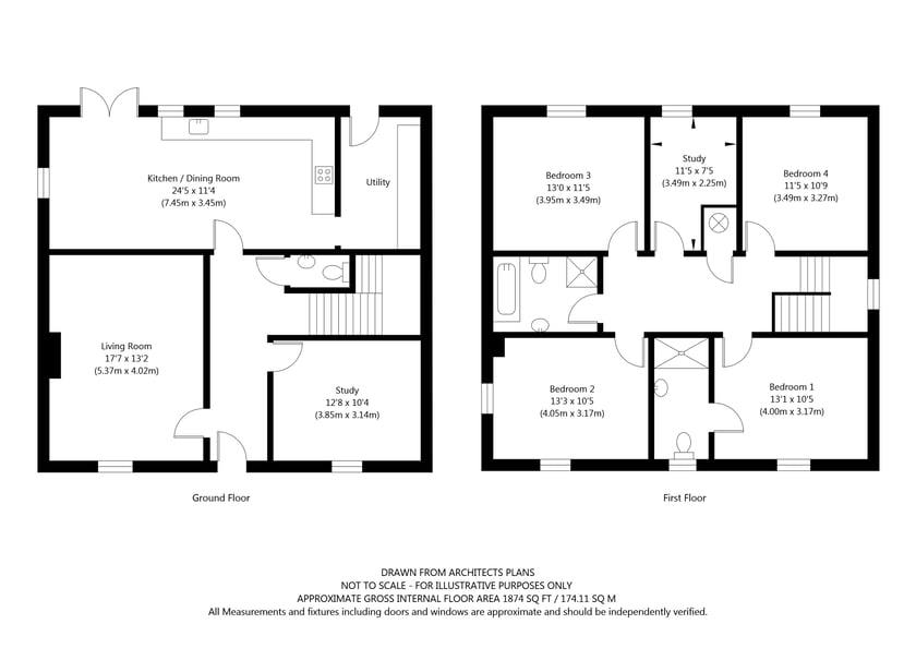 The Wilton Plot 2 Woldgate Pastures, Kilham, York property floorplan