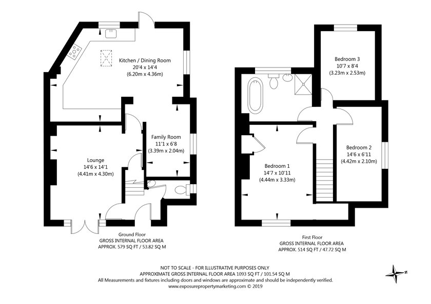 2 Beech Grove, Upper Poppleton, York property floorplan