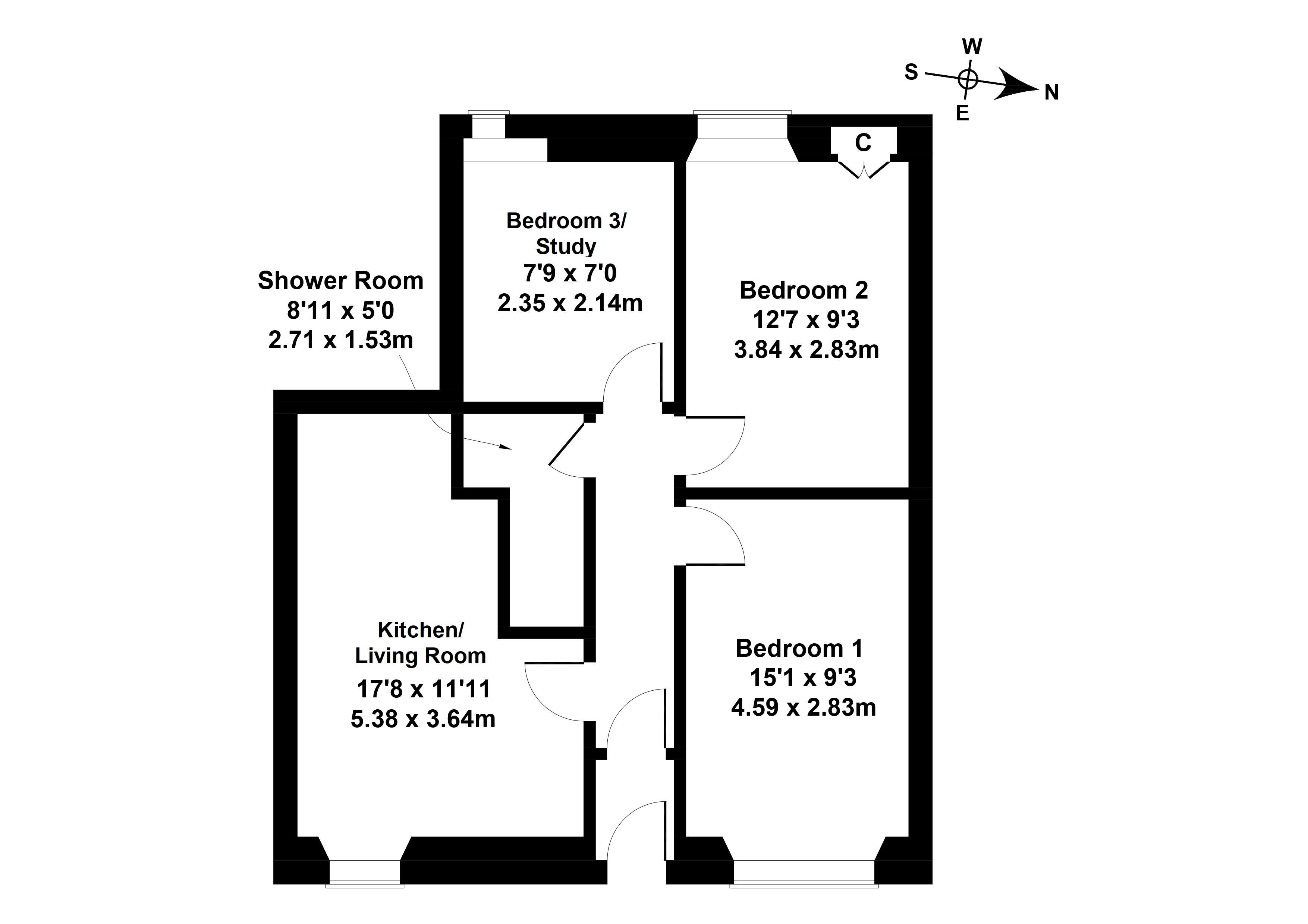 Floorplan 1 of 2 Dalgety Avenue , Meadowbank, Edinburgh, EH7 5UE