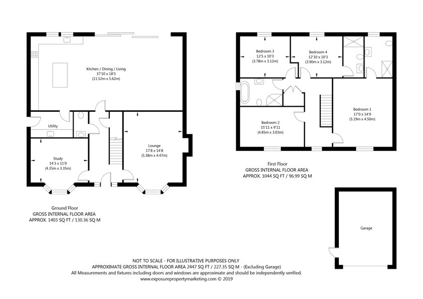 Gale Road, Alne, York property floorplan