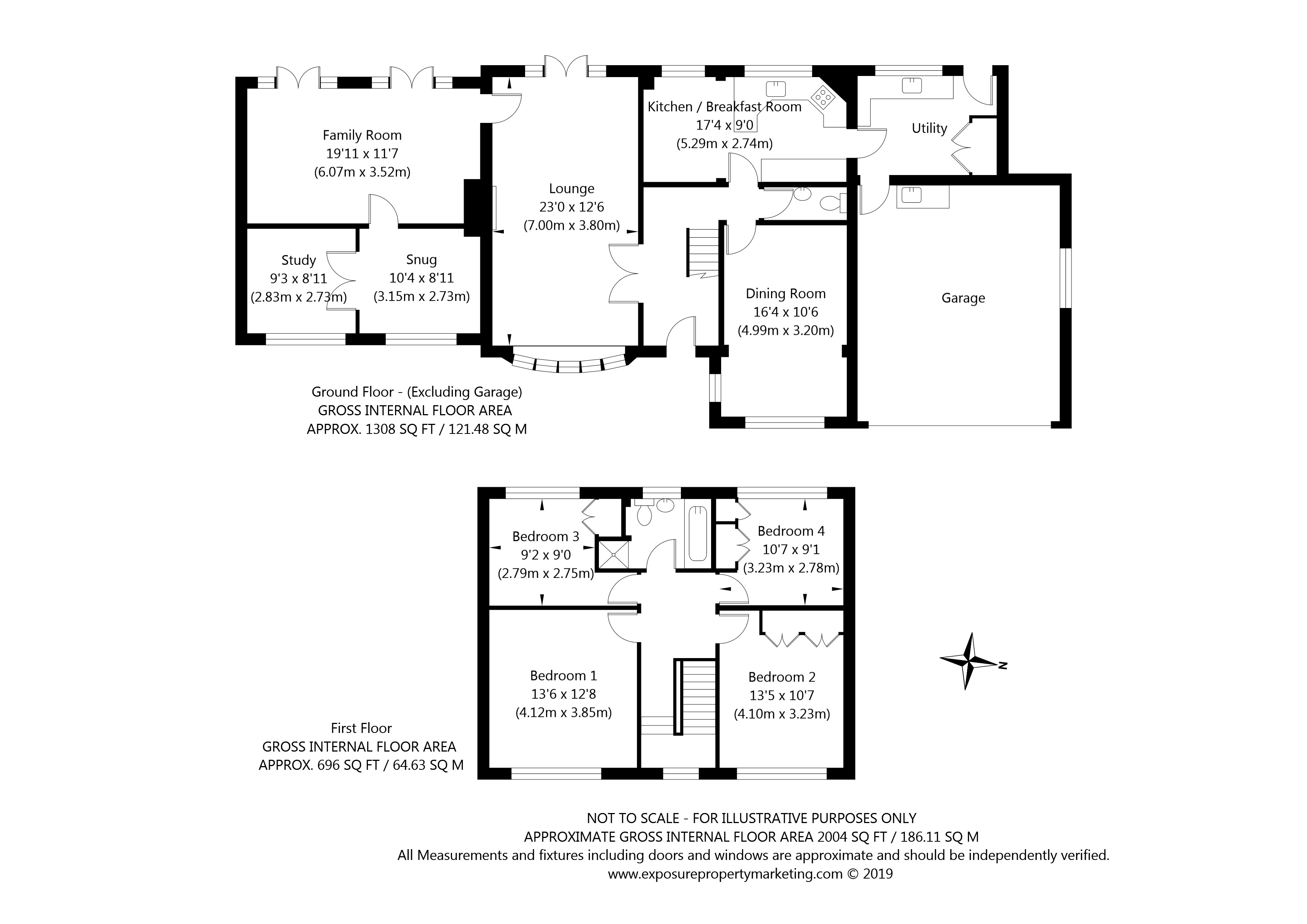 3 Watson Garth, Appleton Roebuck, York property floorplan