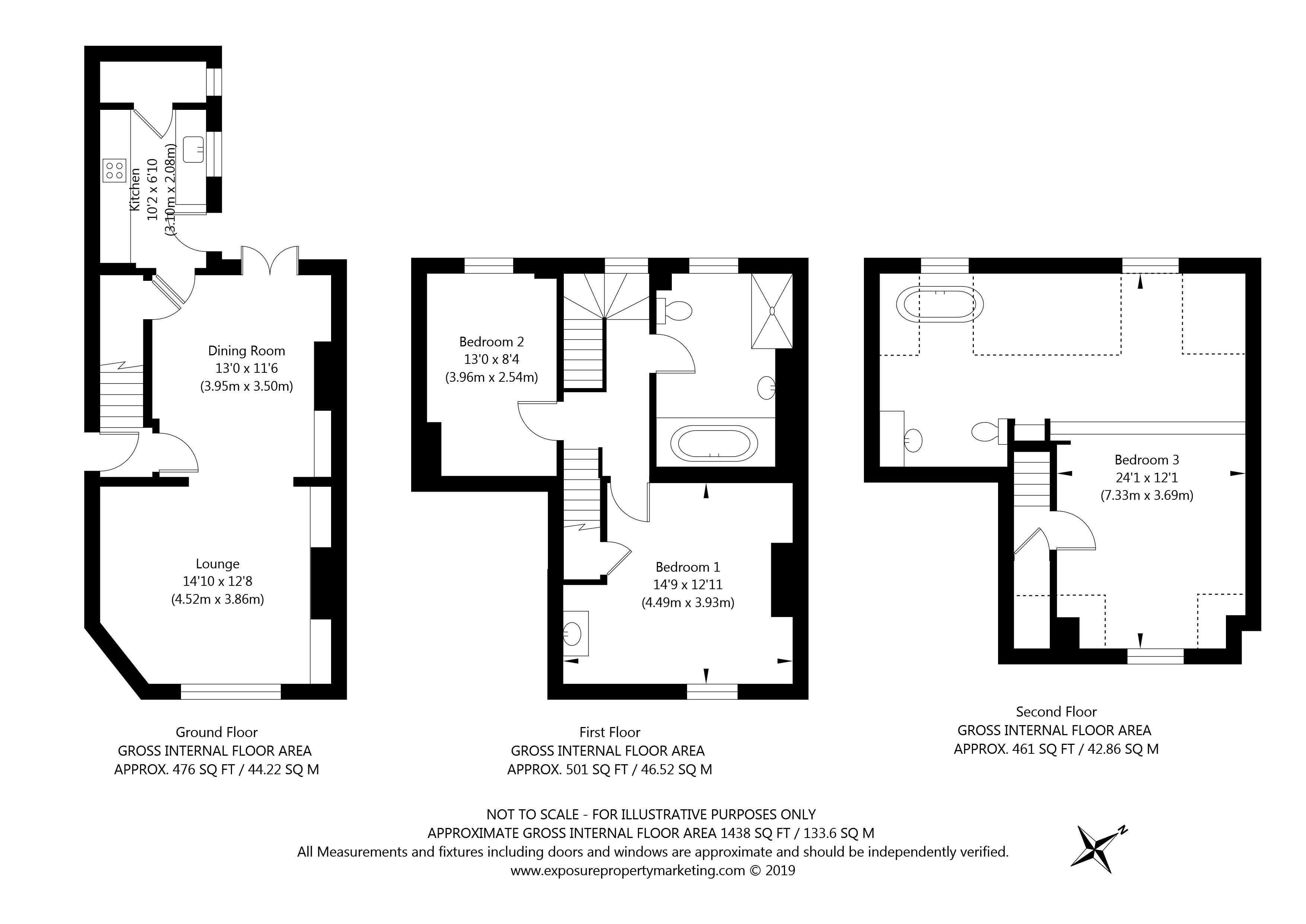 10 George Street, York property floorplan