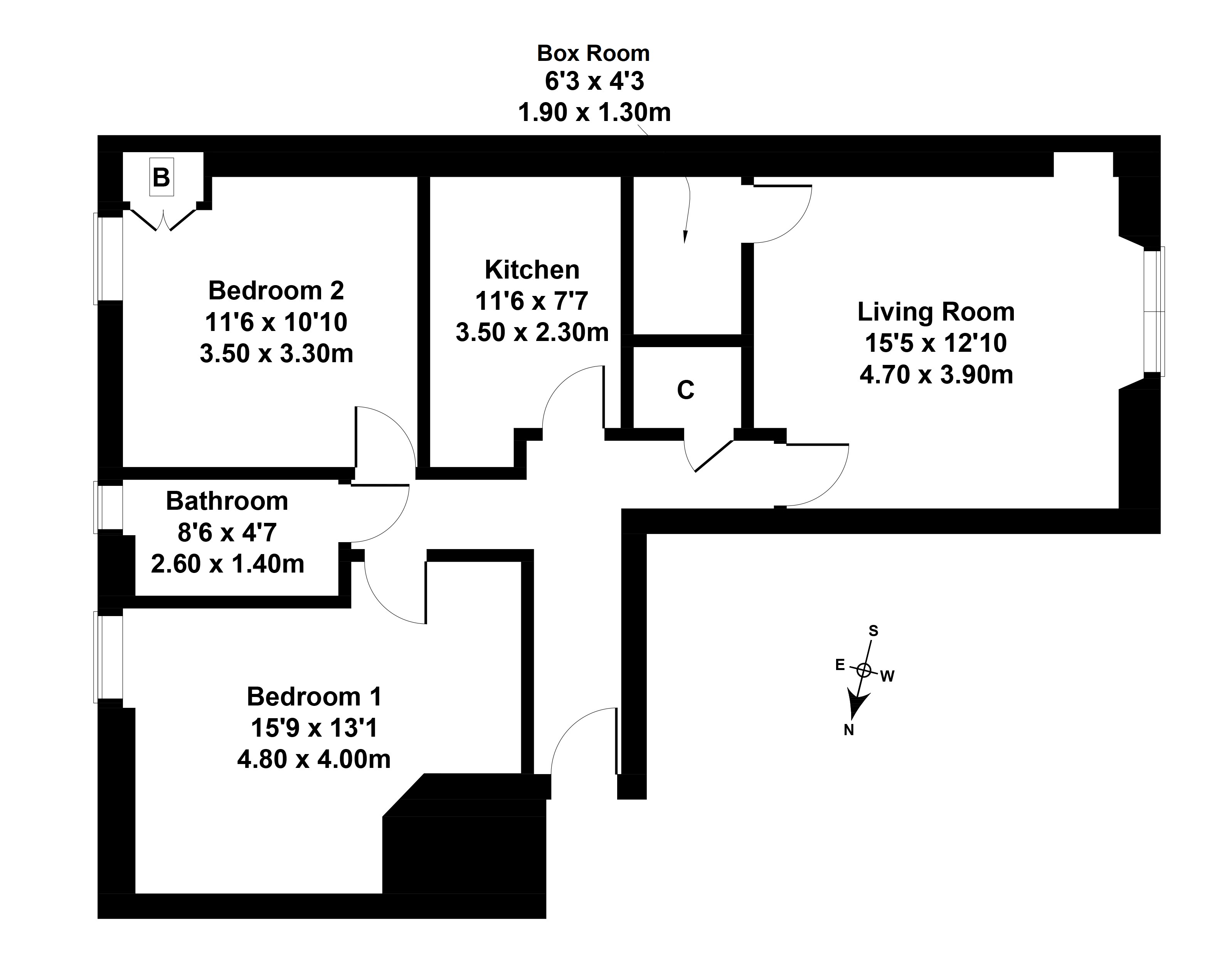 Floorplan 1 of 3F1 153 Granton Road , Trinity, Edinburgh, EH5 3NL