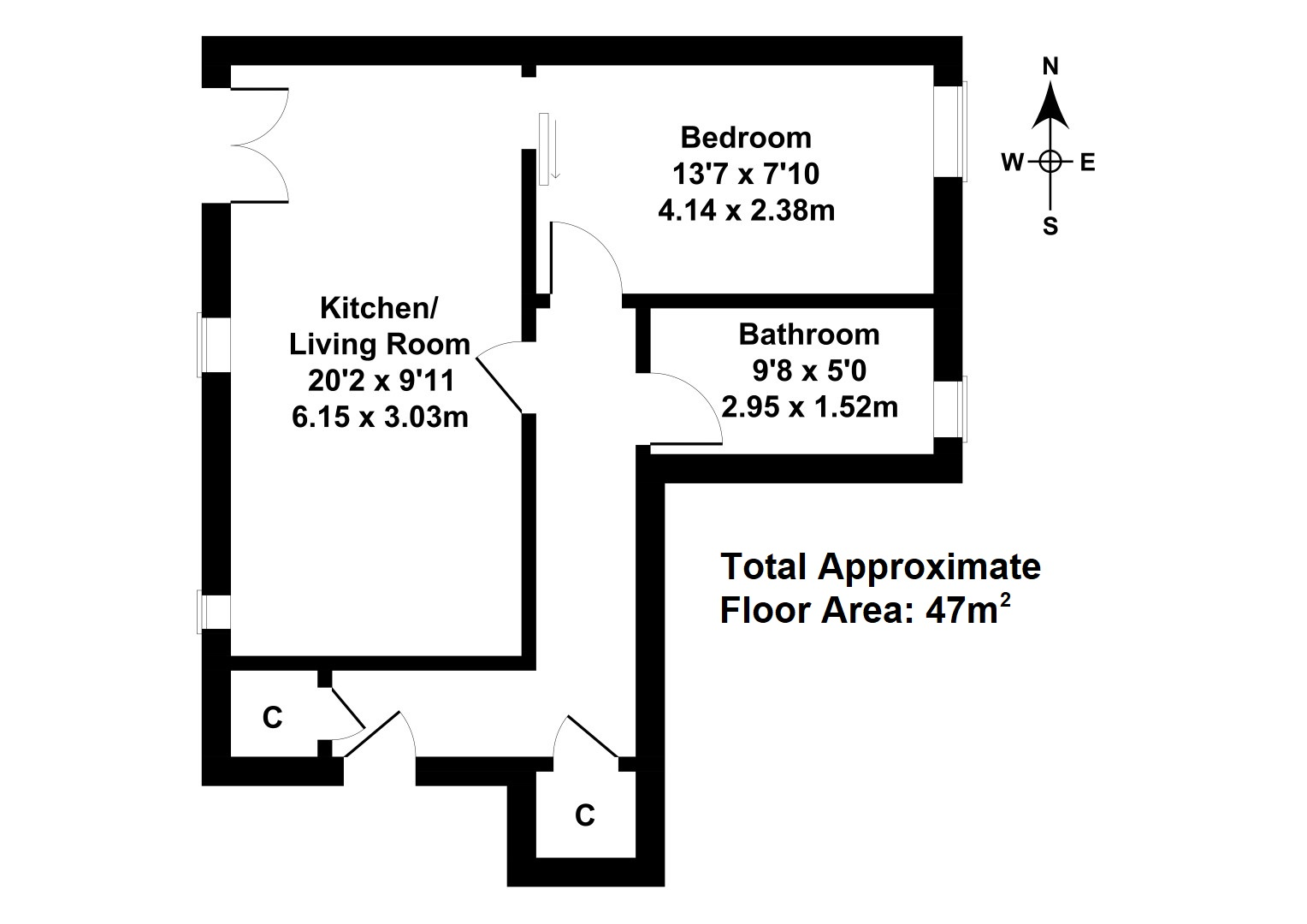 Floorplan 1 of 4/2, Cowgatehead, Old Town, Edinburgh, EH1 1JU
