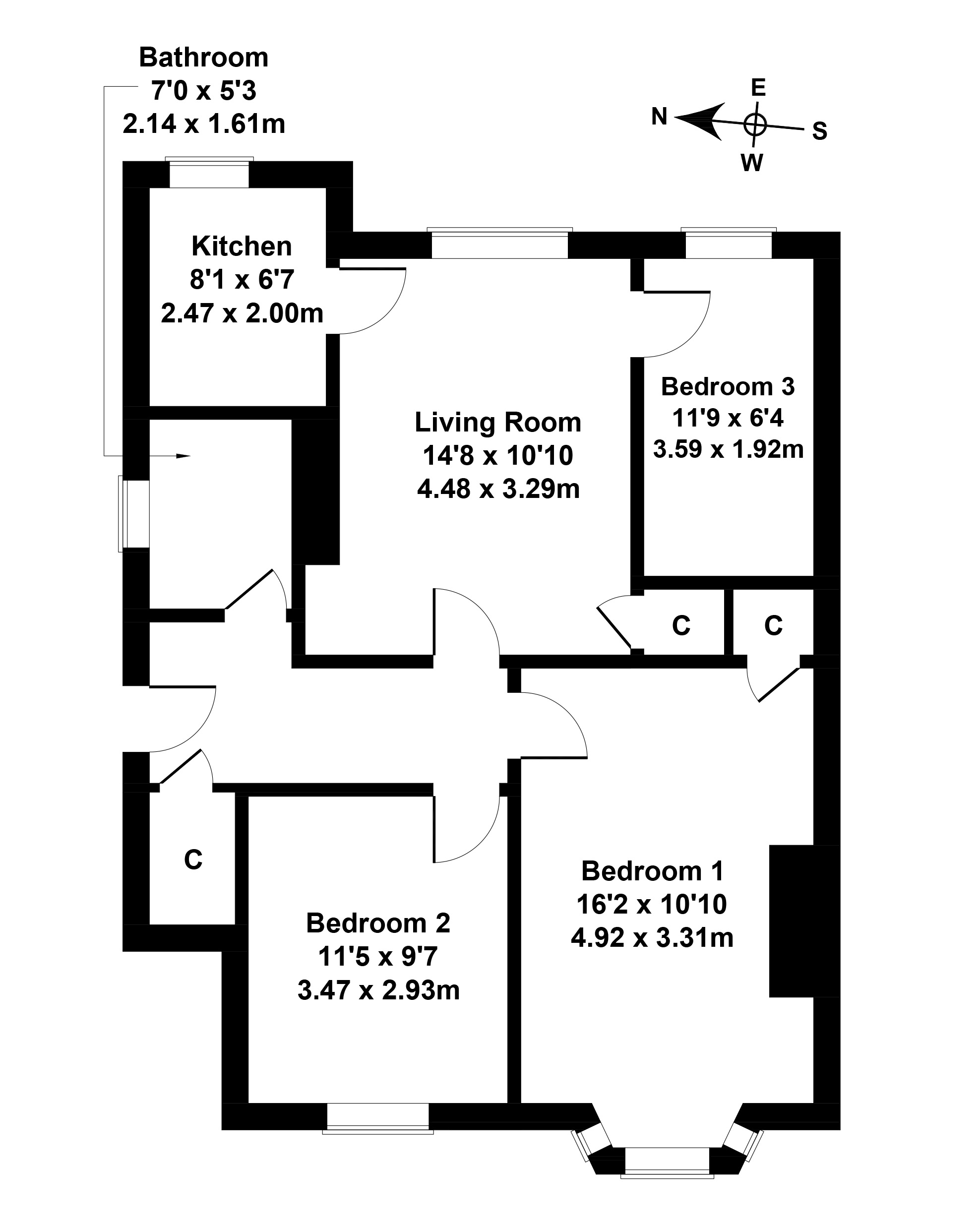 Floorplan 1 of 112 Broomhall Avenue, Corstorphine, Edinburgh, EH12 7NS