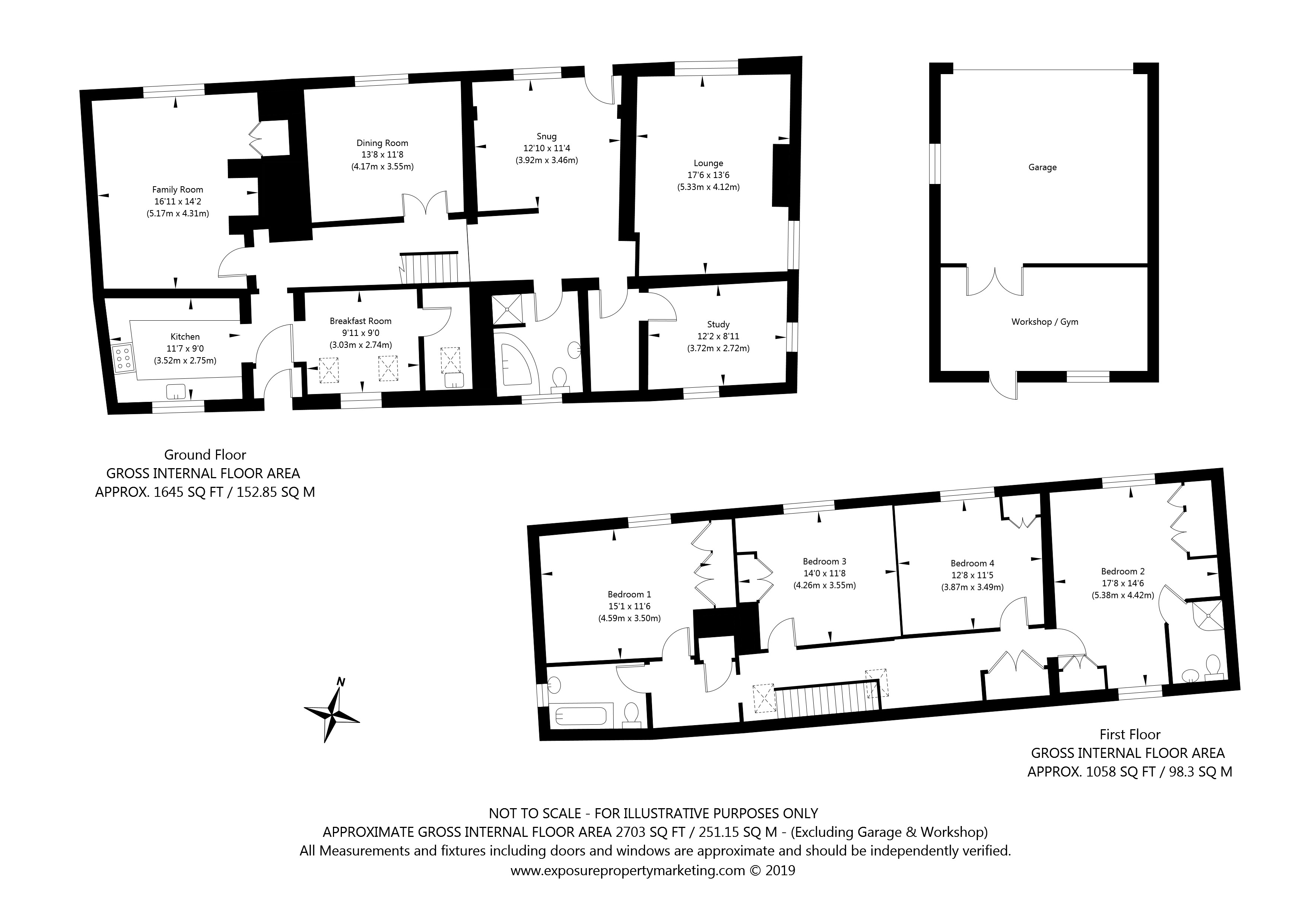 11 Main Street, Wheldrake, York property floorplan