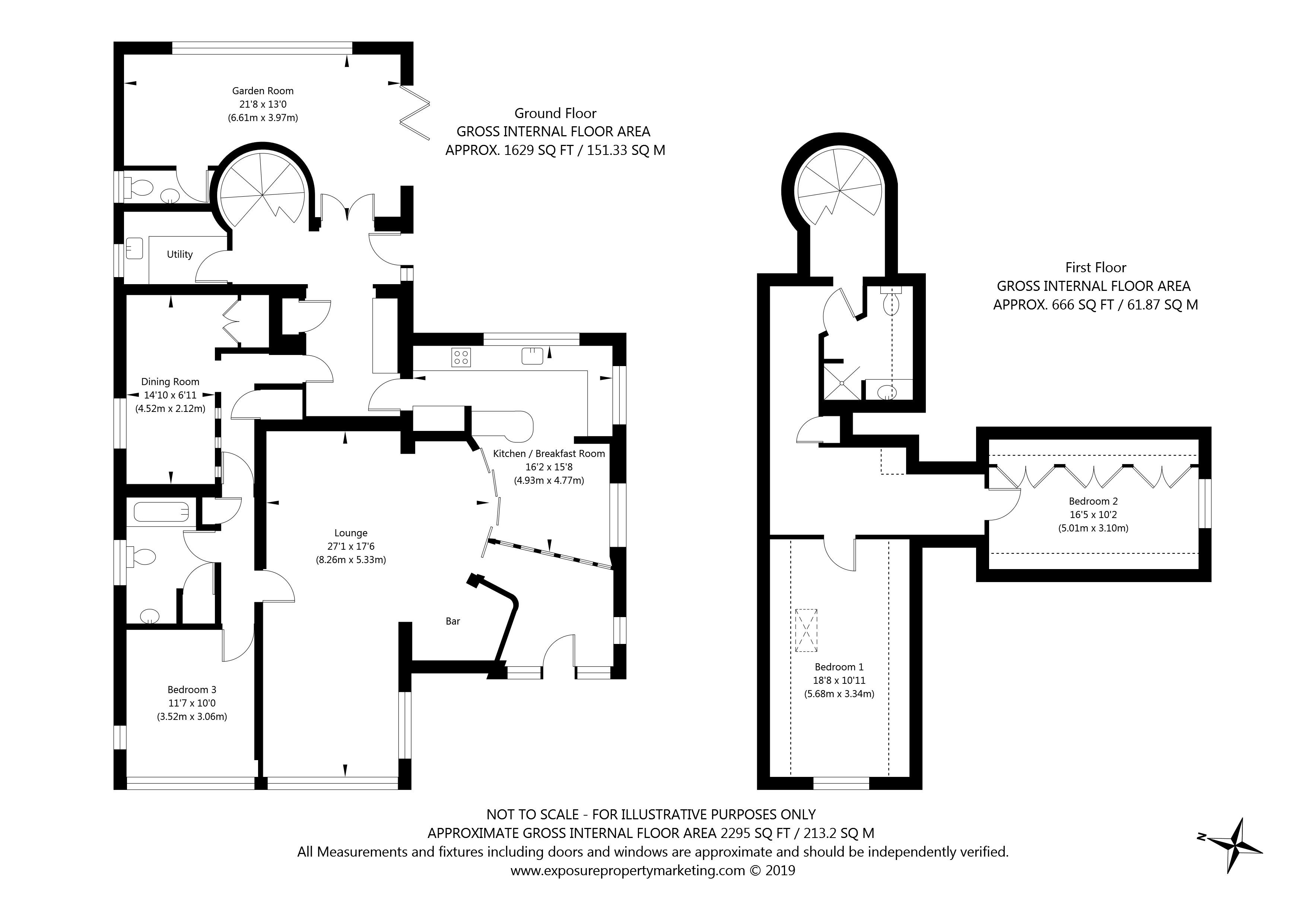18 Monk Avenue, Stockton Lane , York property floorplan