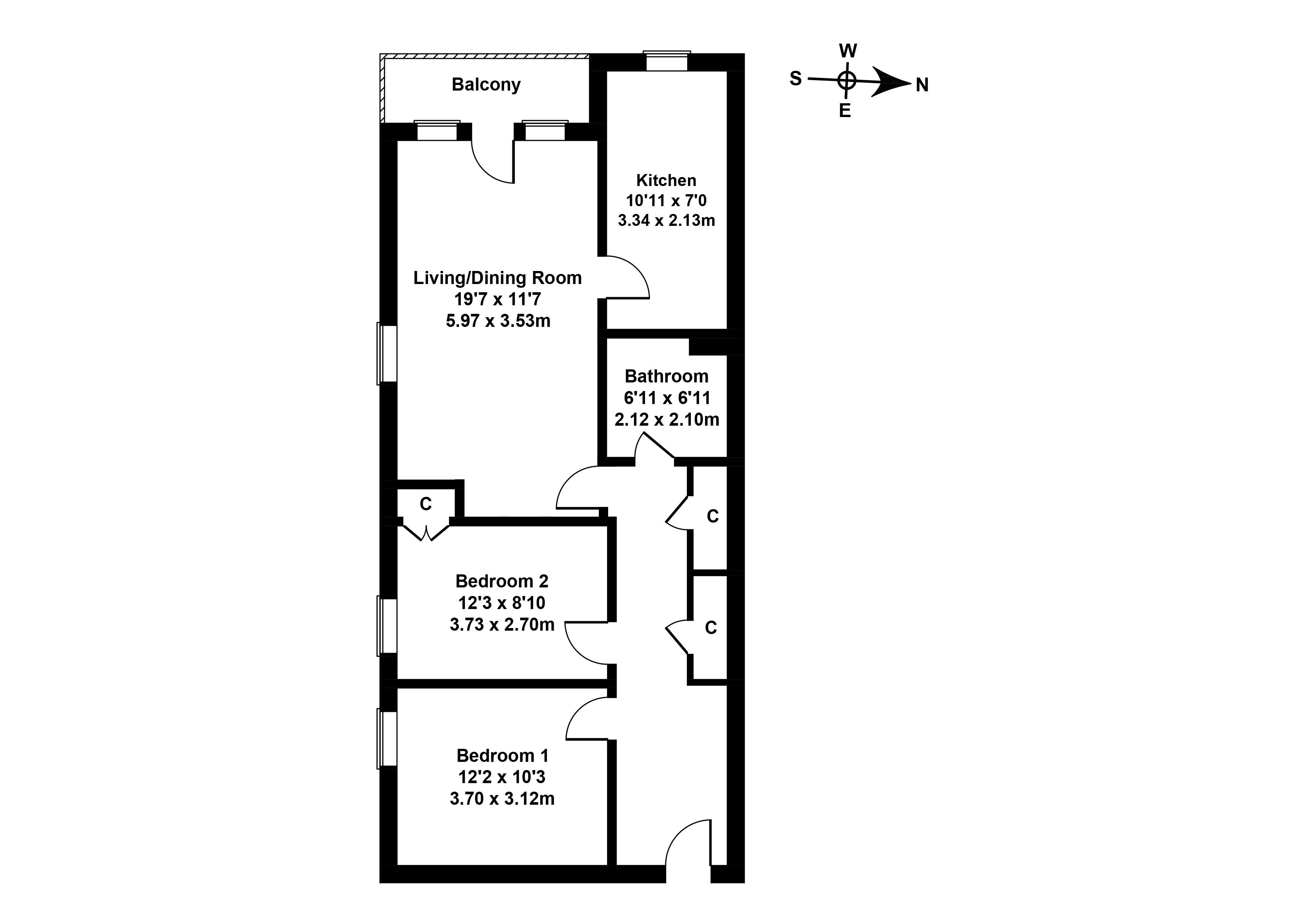 Floorplan 1 of 22 11/5 Restalrig House, Restalrig Gardens, Edinburgh, EH7 6HY