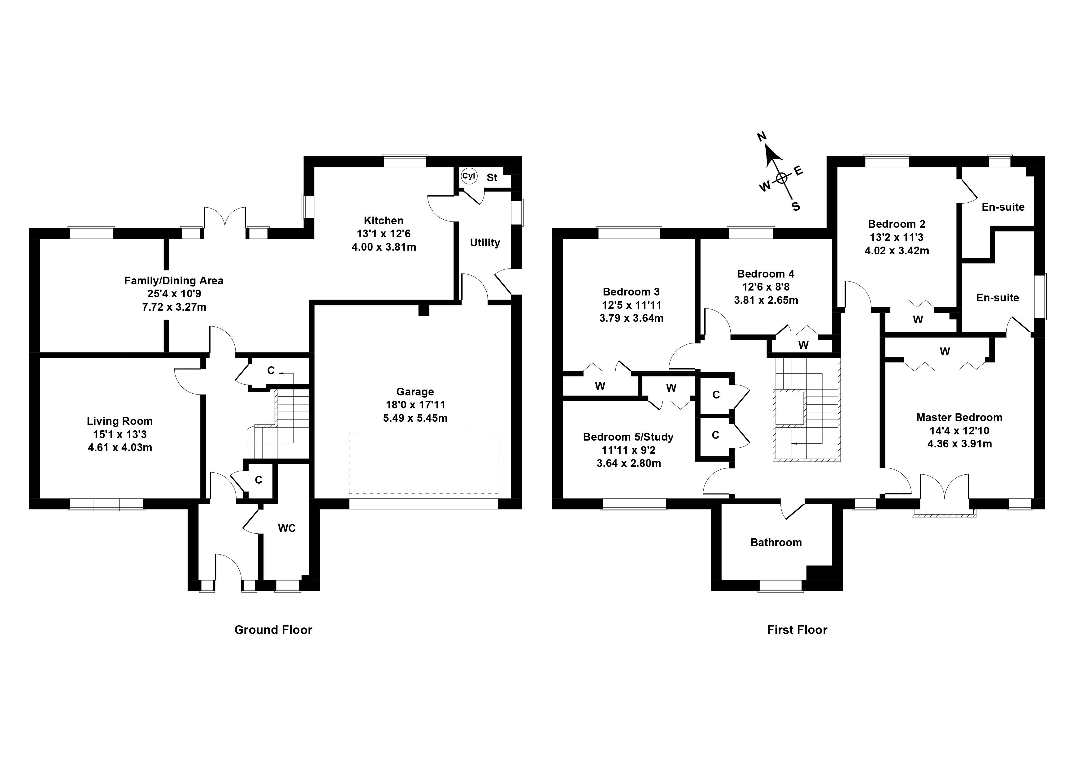 Floorplan 1 of 21 West Cairn View, Murieston, Livingston, West Lothian, EH54 9FF