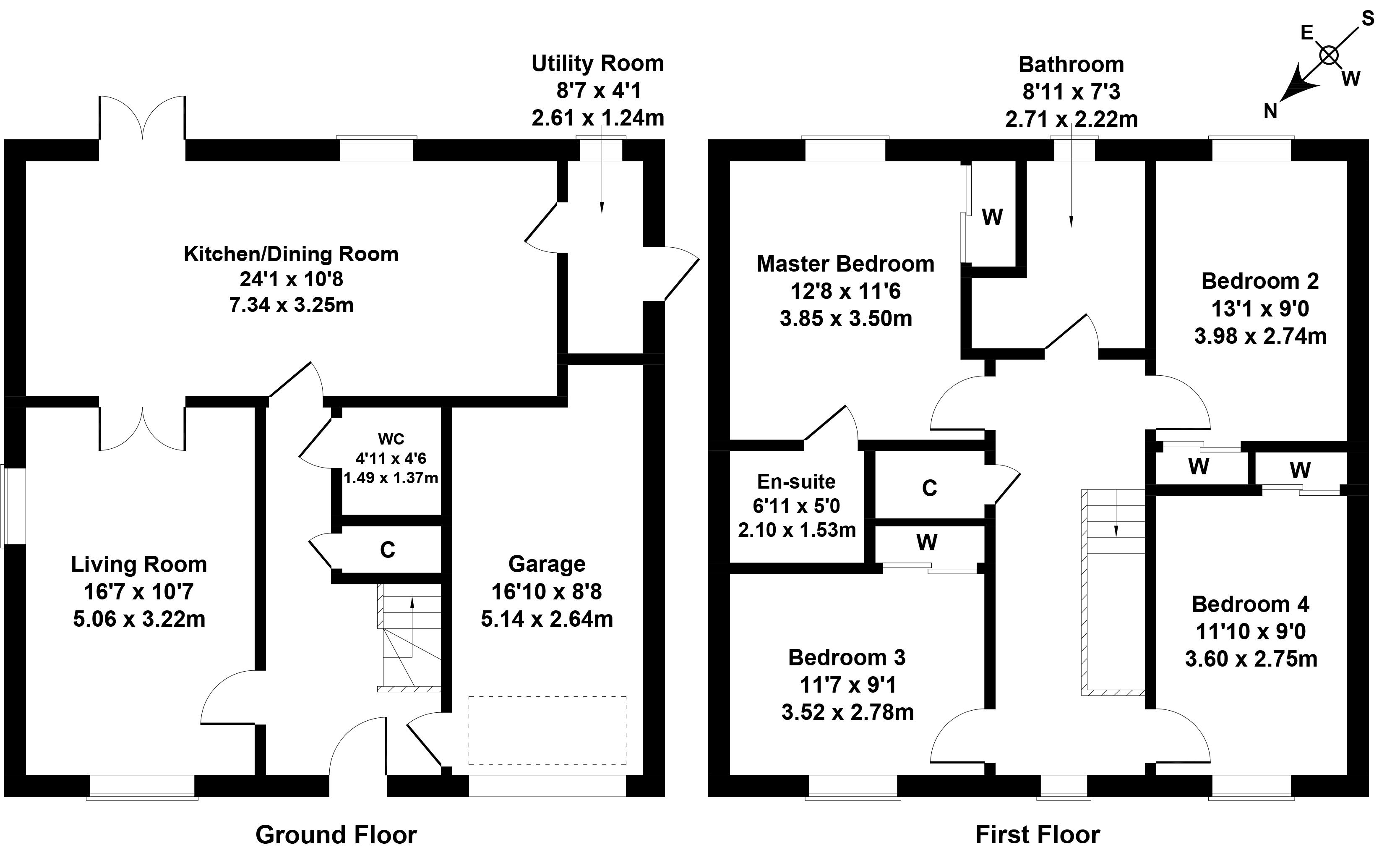 Floorplan 1 of 1 Thorny Crook Loan, Dalkeith, Midlothian, EH22 2RL
