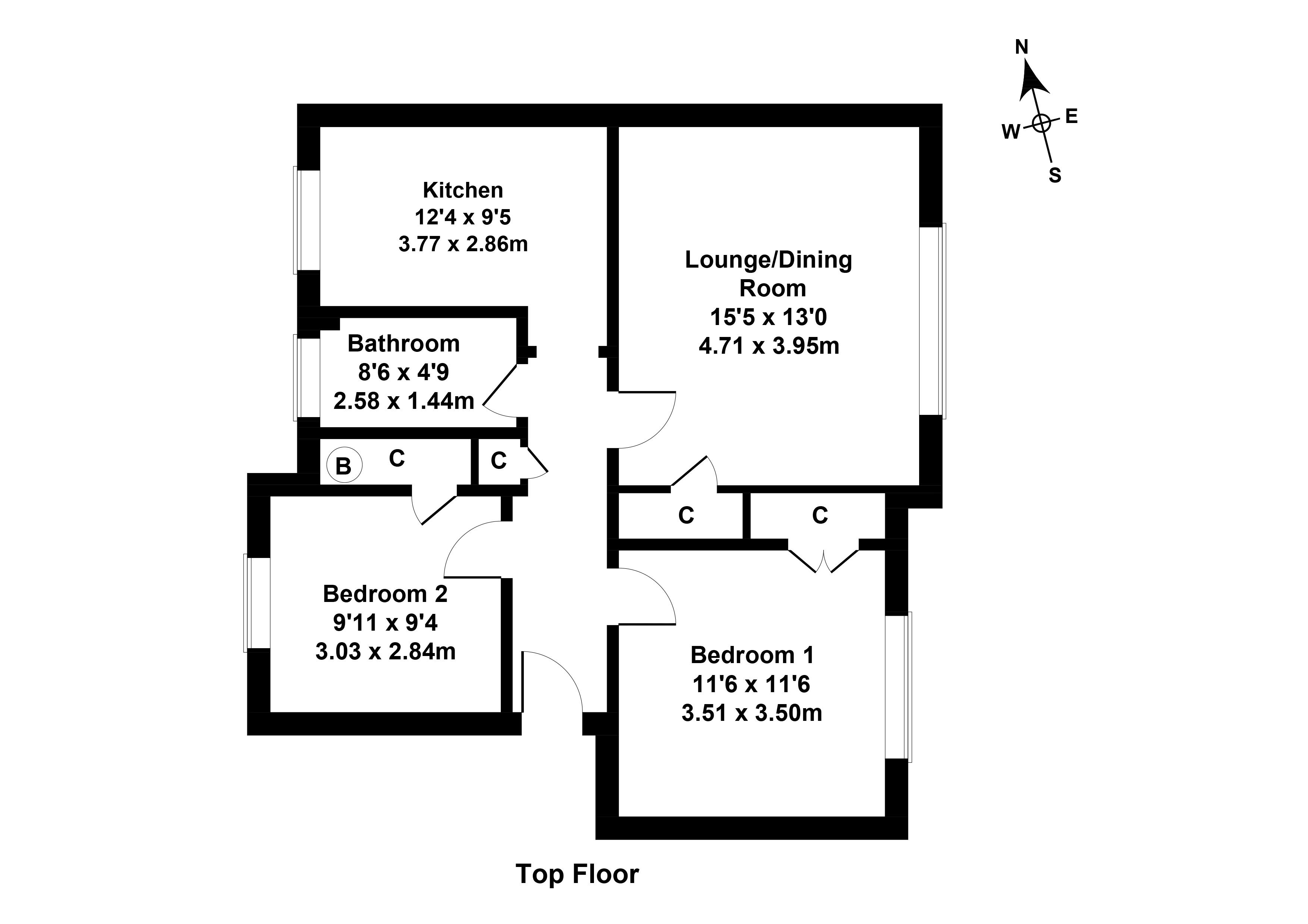 Floorplan 1 of 4h Silverknowes Neuk, Silverknowes, Edinburgh, EH4 5QA