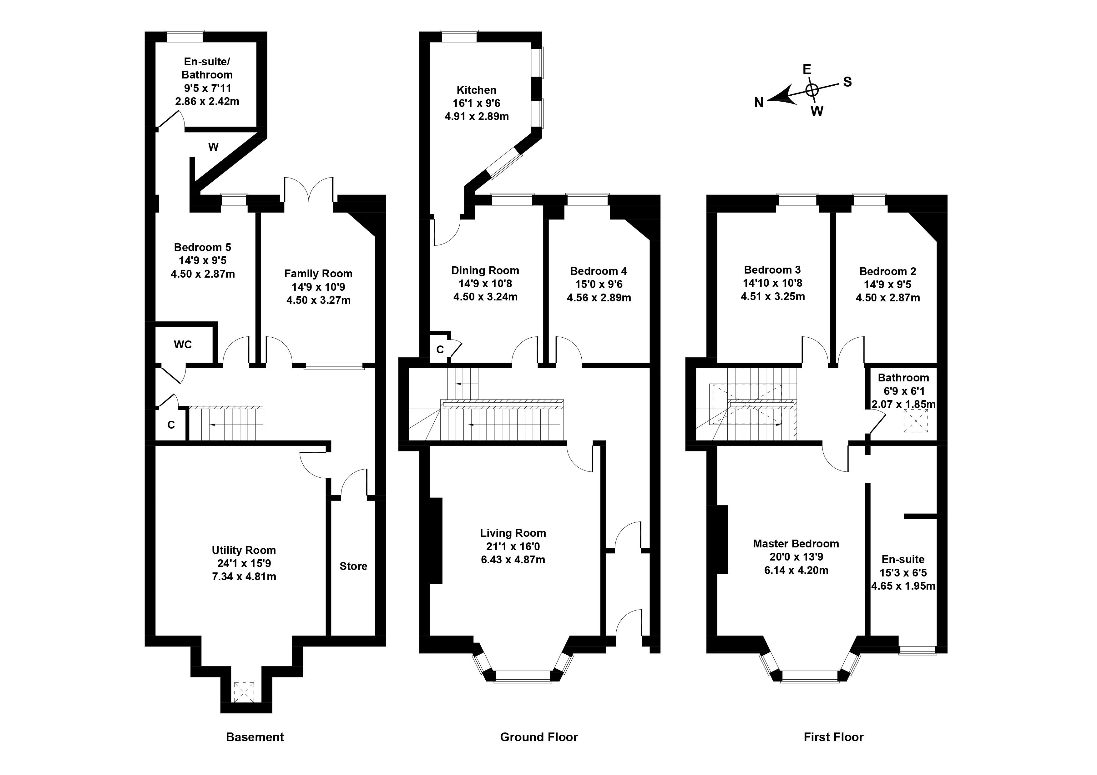 Floorplan 1 of 11 Braid Avenue, Morningside, Edinburgh, EH10 4SL