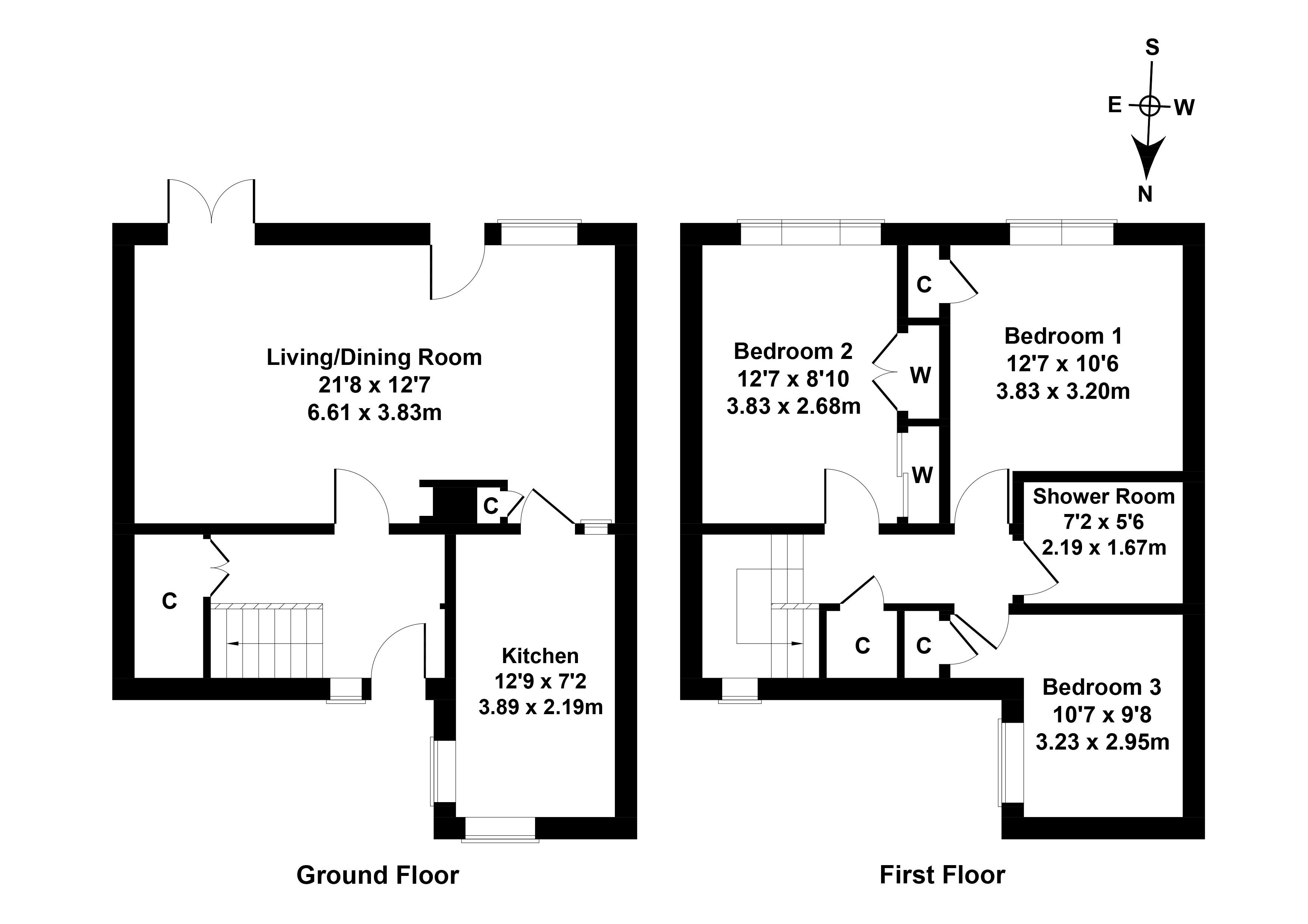 Floorplan 1 of 367 Megginch Place, Glenrothes, Fife, KY7 4PT