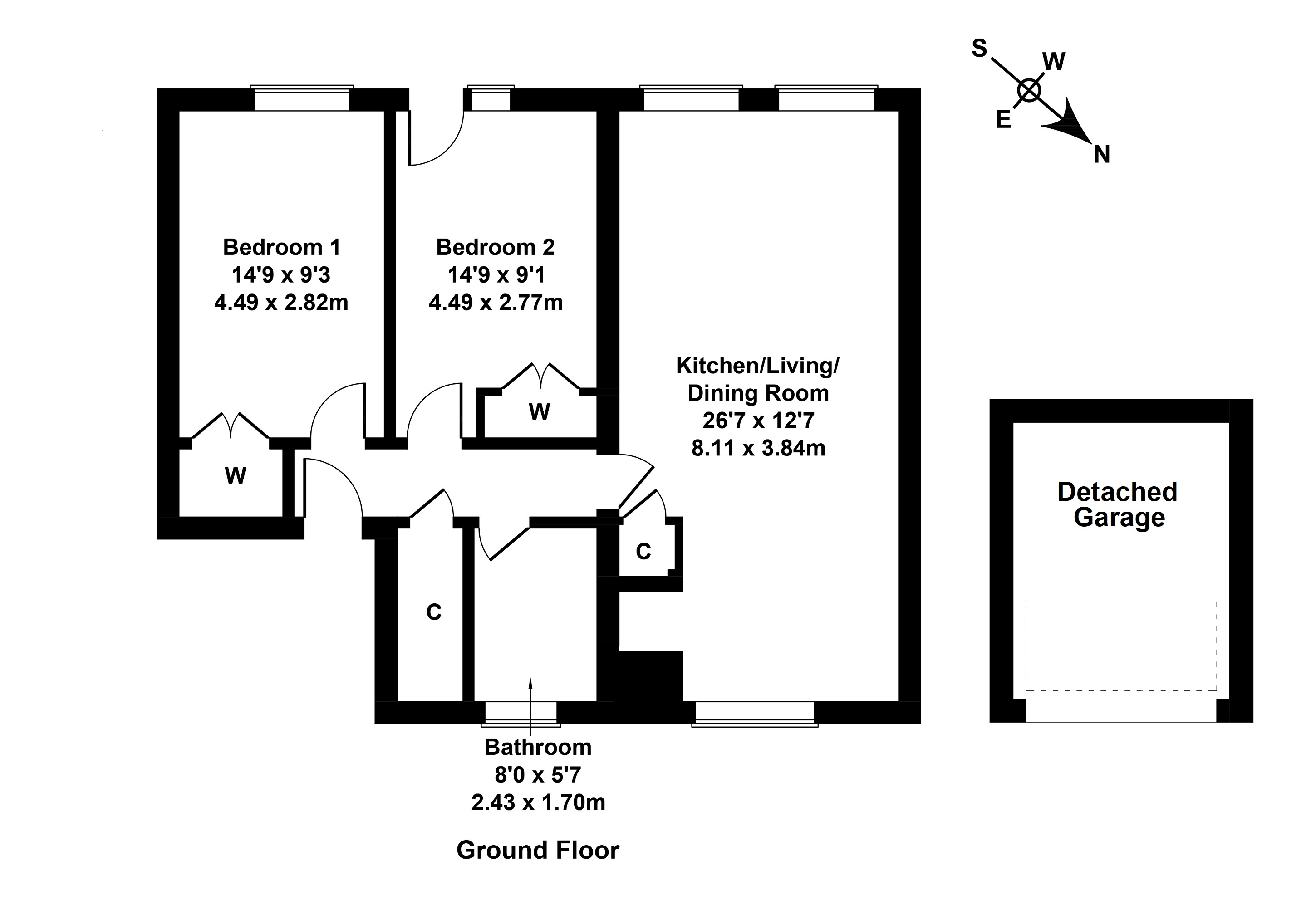 Floorplan 1 of 9/1, Blackie Road, Leith Links, Edinburgh, EH6 7NA