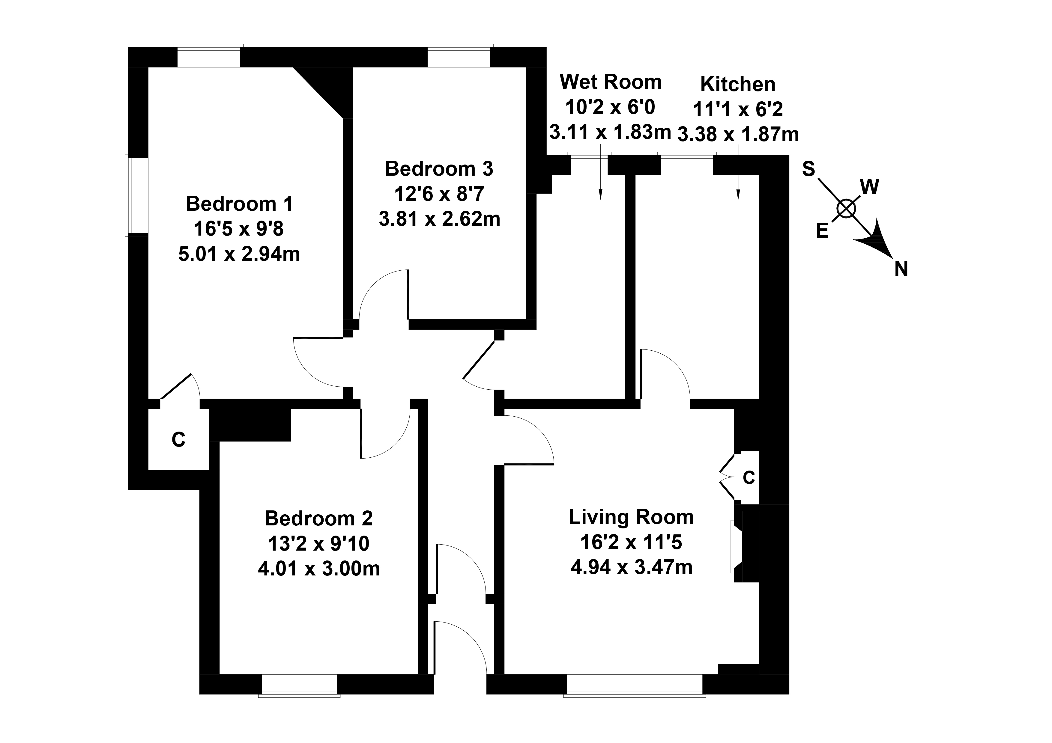 Floorplan 1 of 45 Hutchison Crossway, Chesser, Edinburgh, EH14 1RY