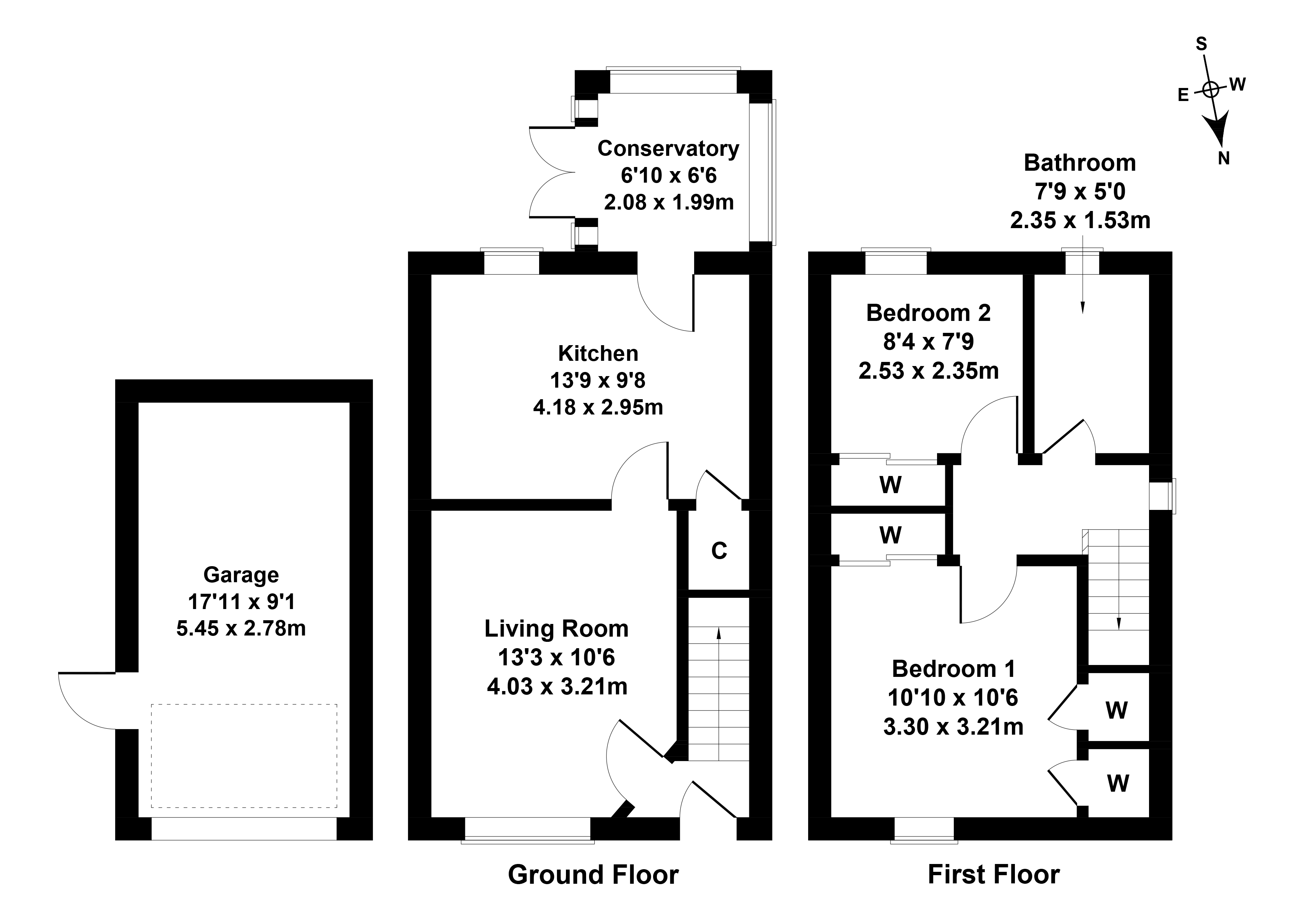 Floorplan 1 of 30 Fa'side View, Tranent, East Lothian, EH33 2NT
