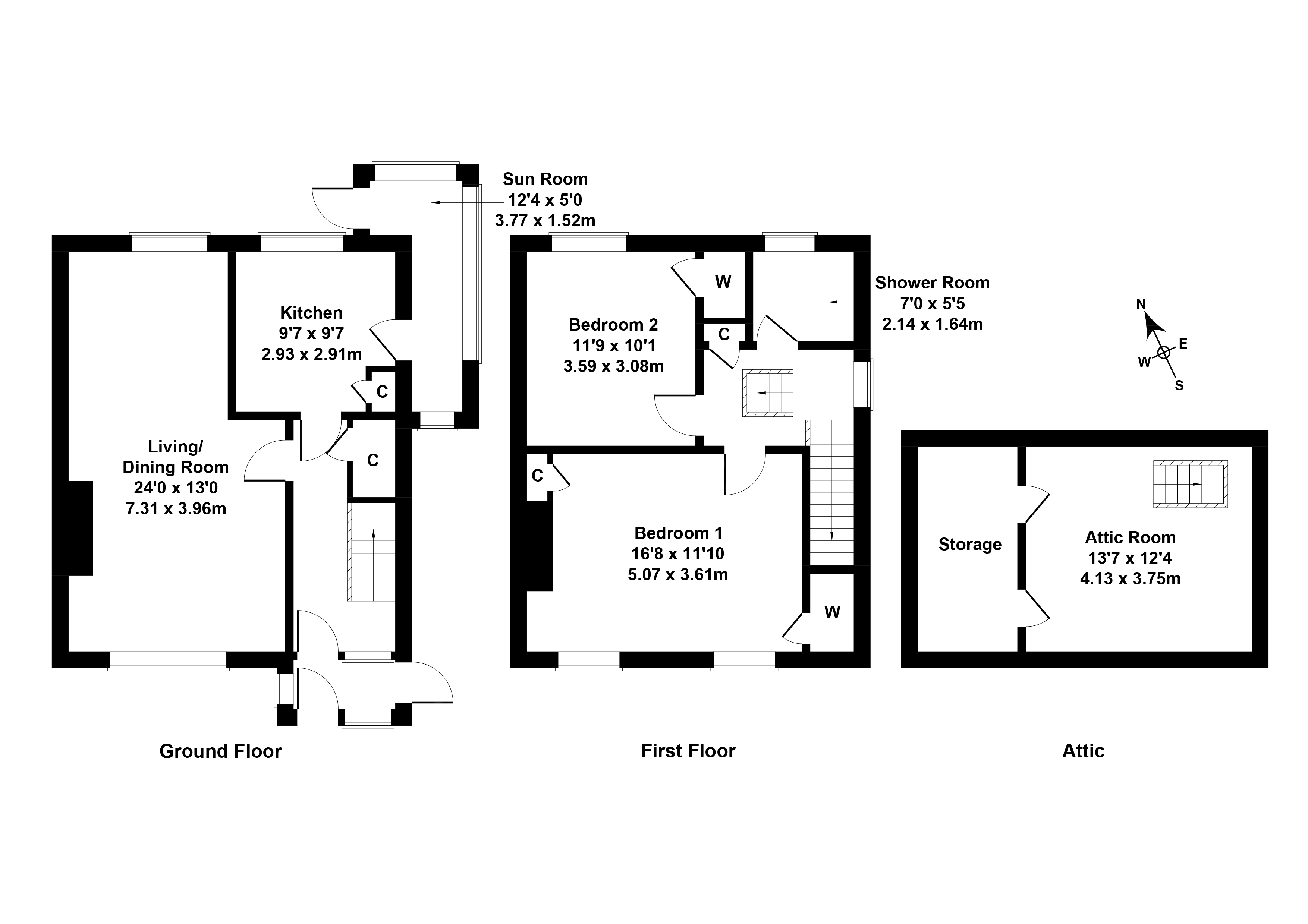 Floorplan 1 of 84 Turnhouse Road, Corstorphine, Edinburgh, EH12 8ND