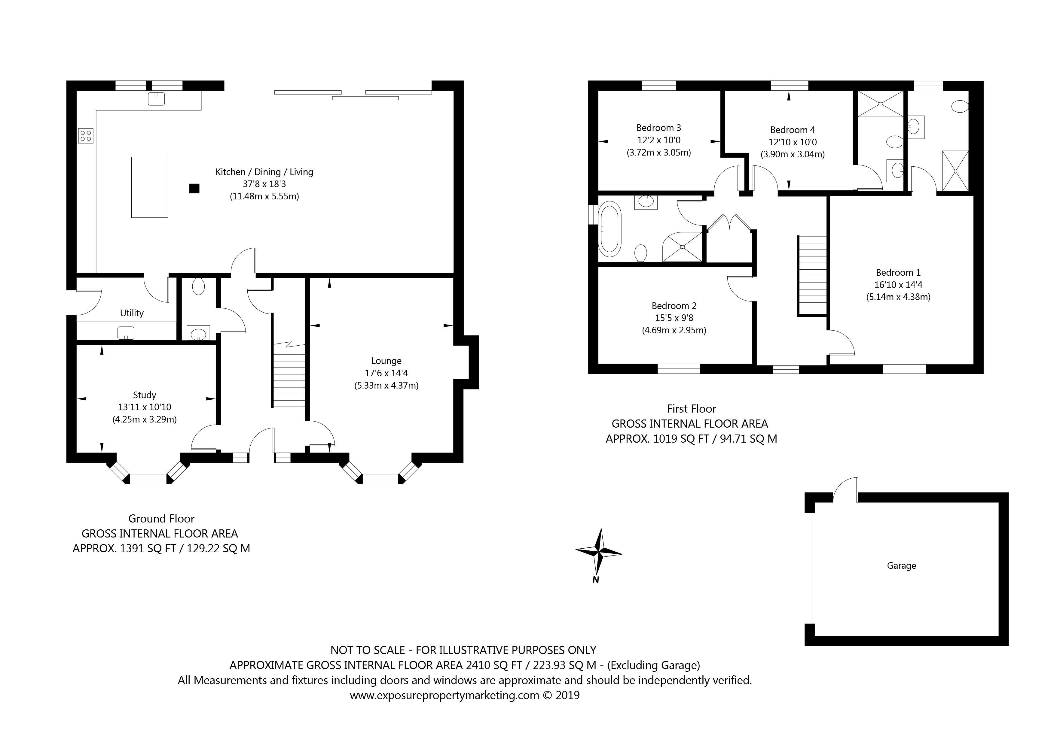 Gale Road, Alne, York property floorplan