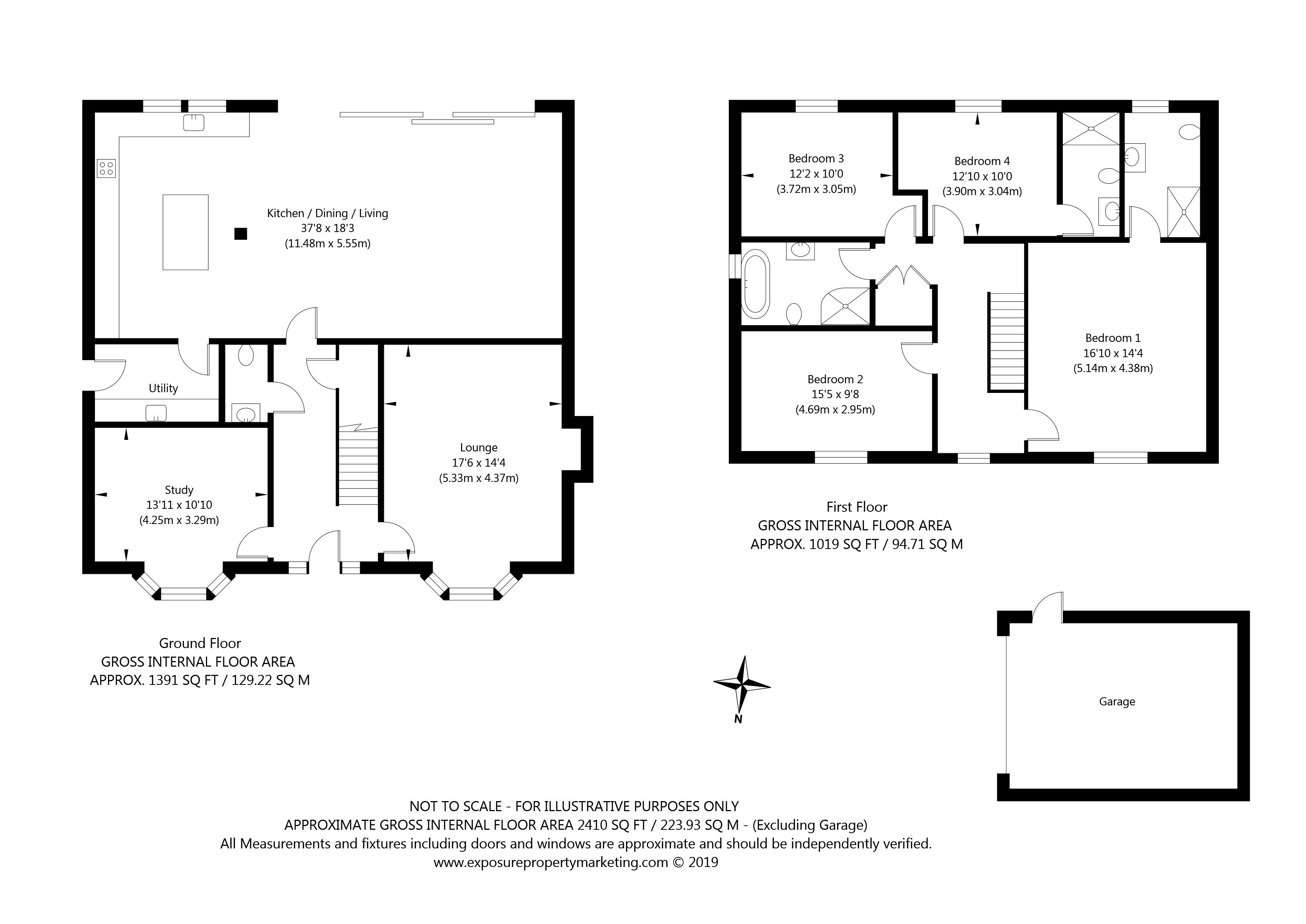 Pasture House  Gale Road, Alne, York property floorplan
