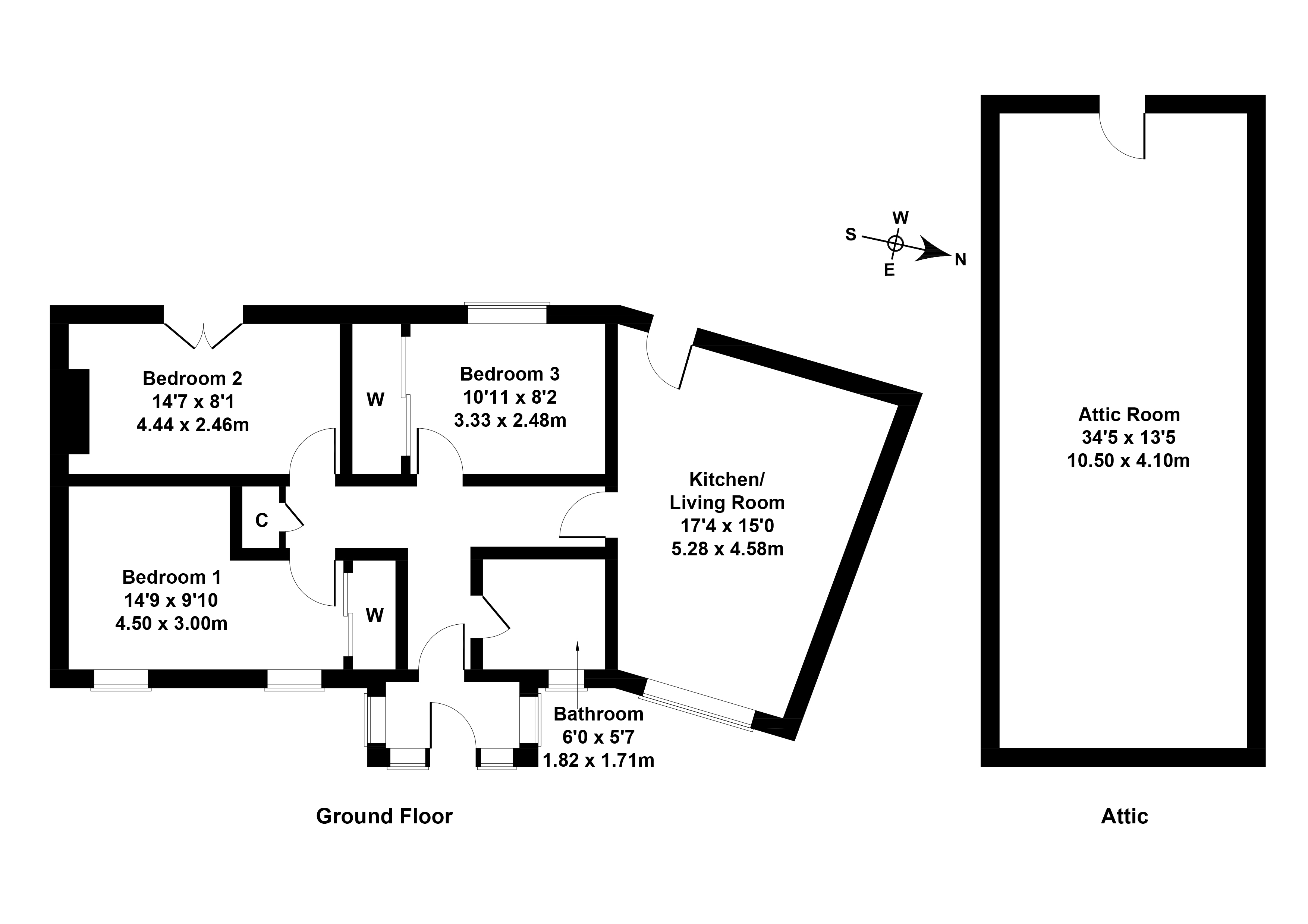 Floorplan 1 of 306 Craigcrook Road, Blackhall, Edinburgh, EH4 7BA